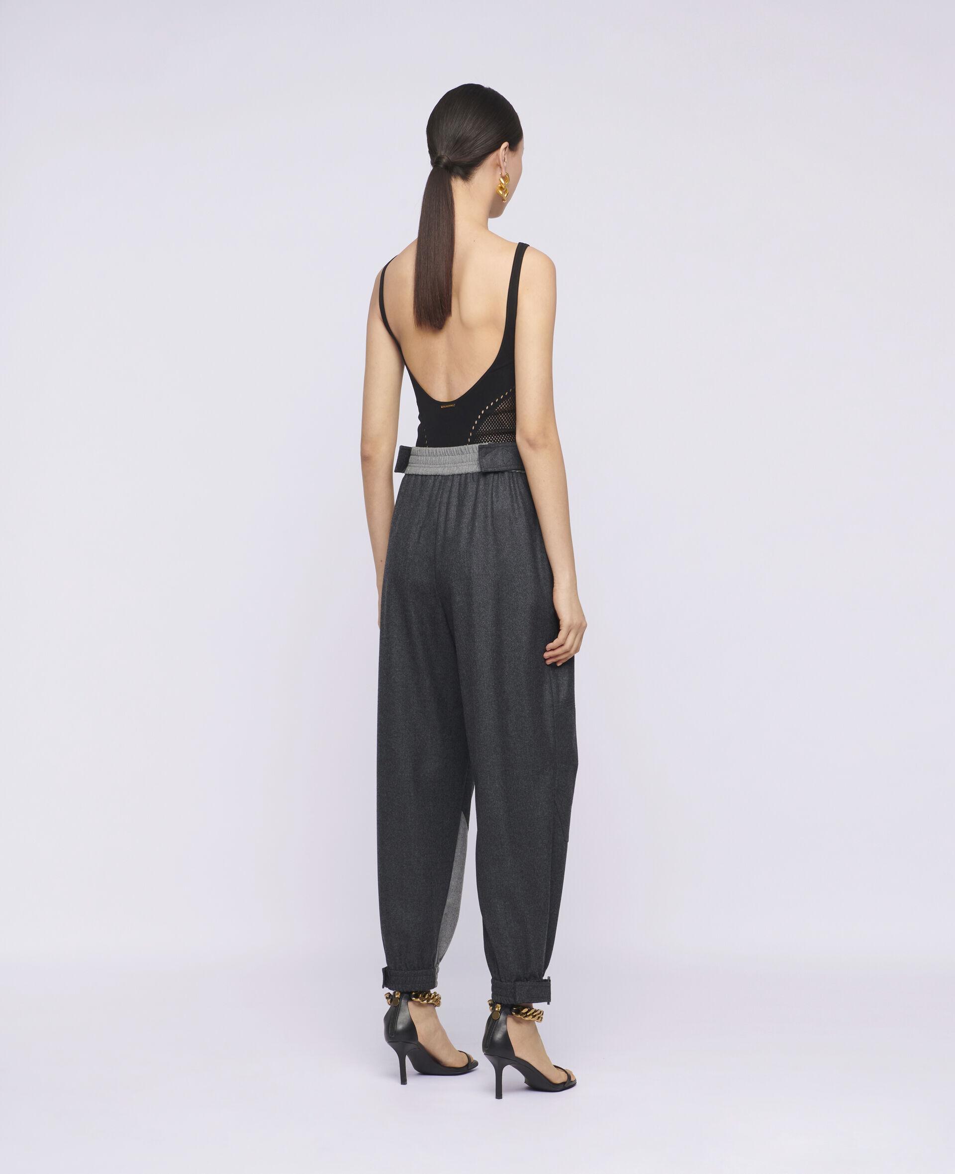 Pantaloni Lacey in Lana-Beige-large image number 2