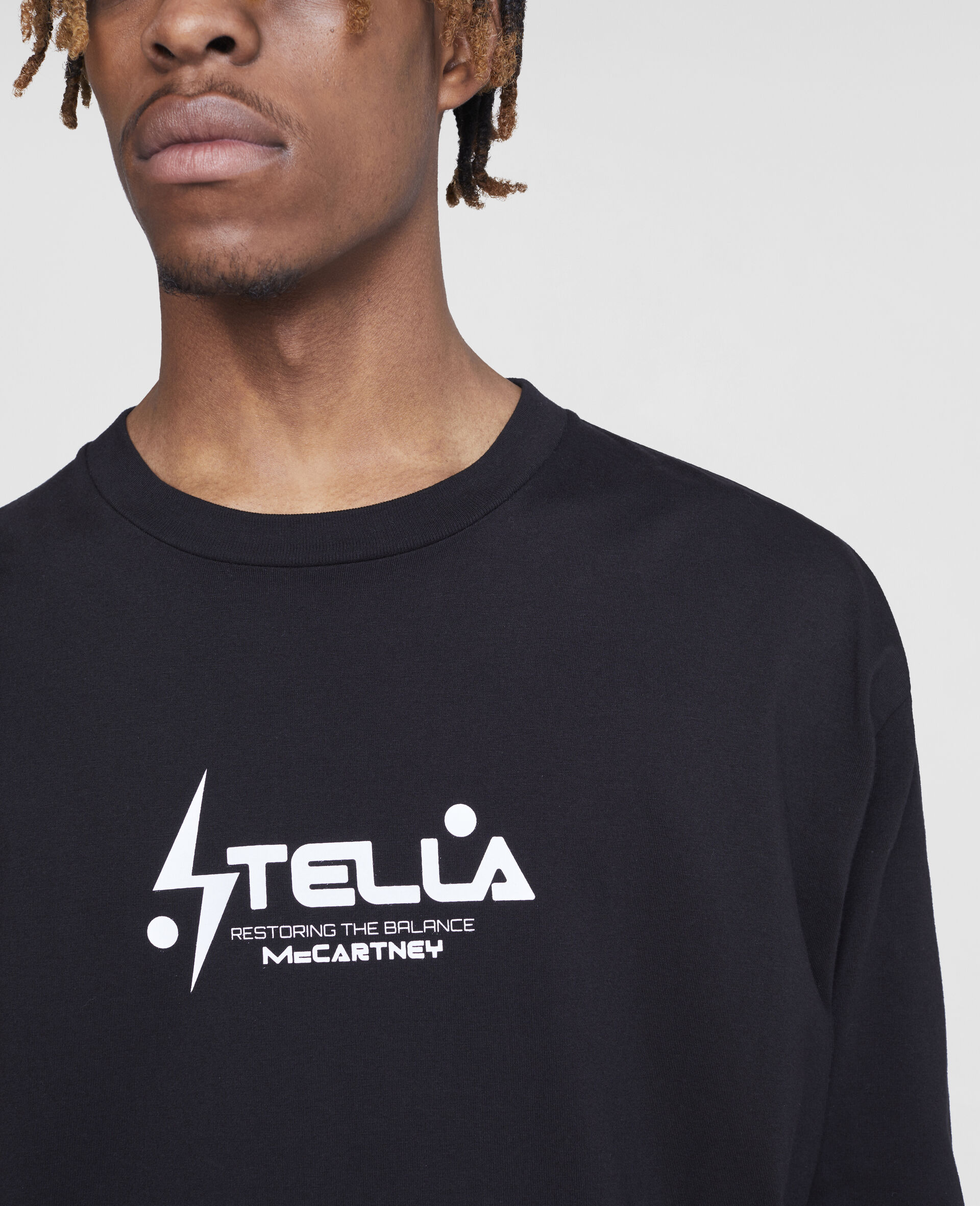 Tom Tosseyn Stella Logo T-Shirt-Black-large image number 4
