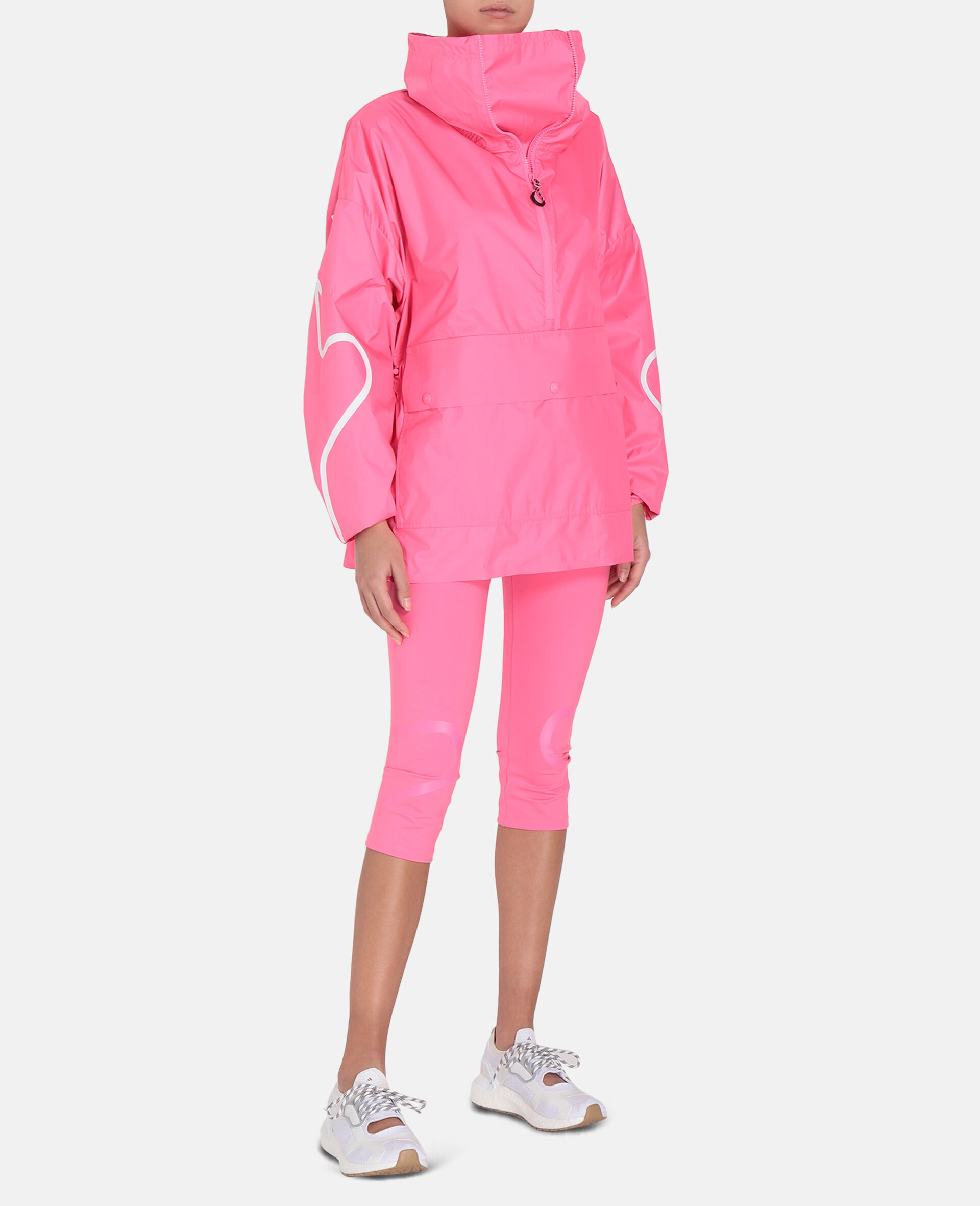 Pink Half-Zip Jacket-Pink-large image number 1