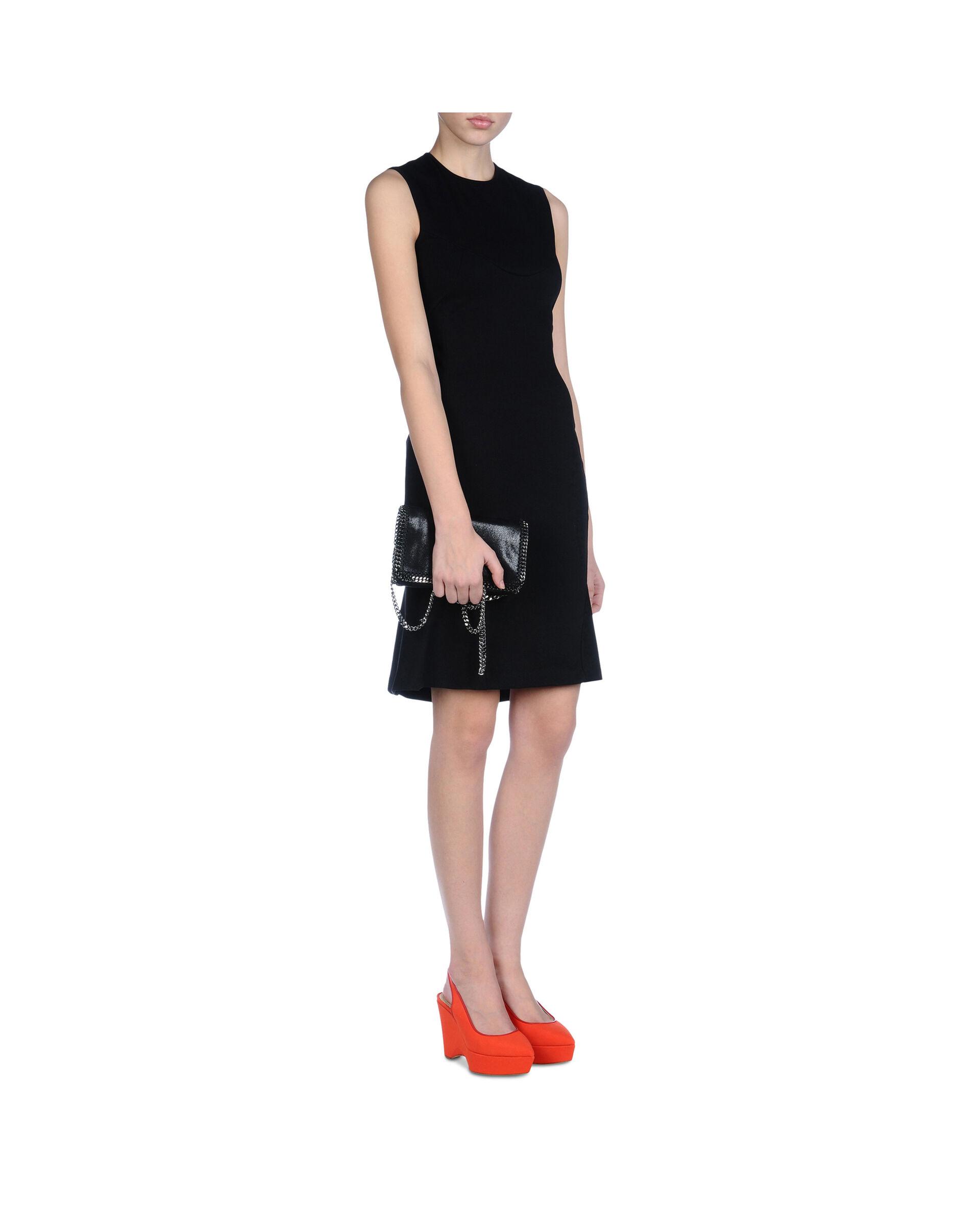 Falabella Shoulder Bag -Black-large image number 3