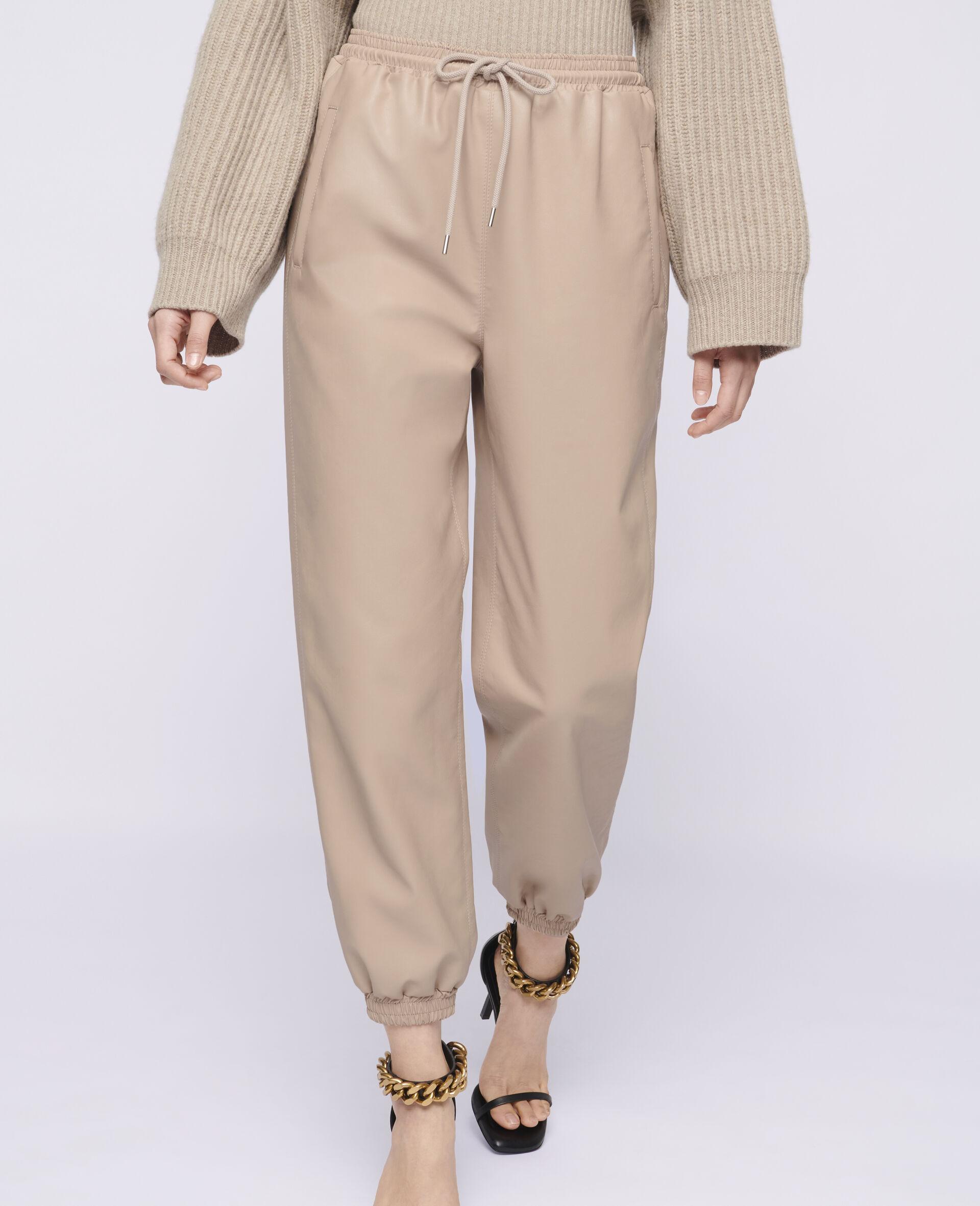 Kira Alter Mat Trousers-Pink-large image number 3