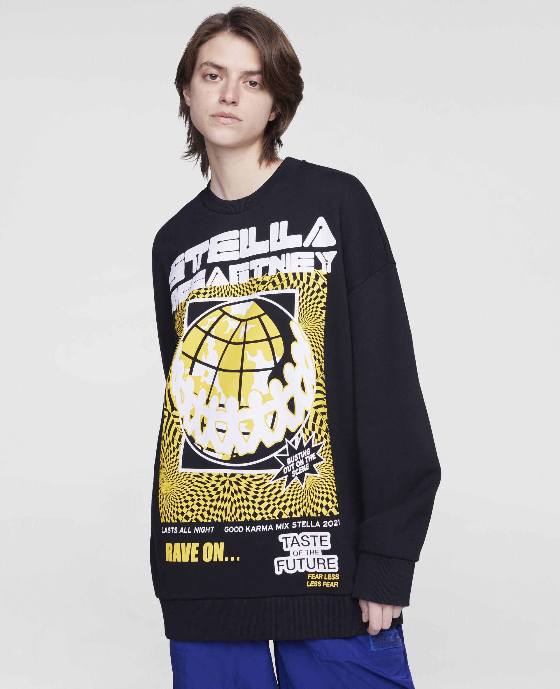 Sweat-shirt Rave-Noir-large image number 3