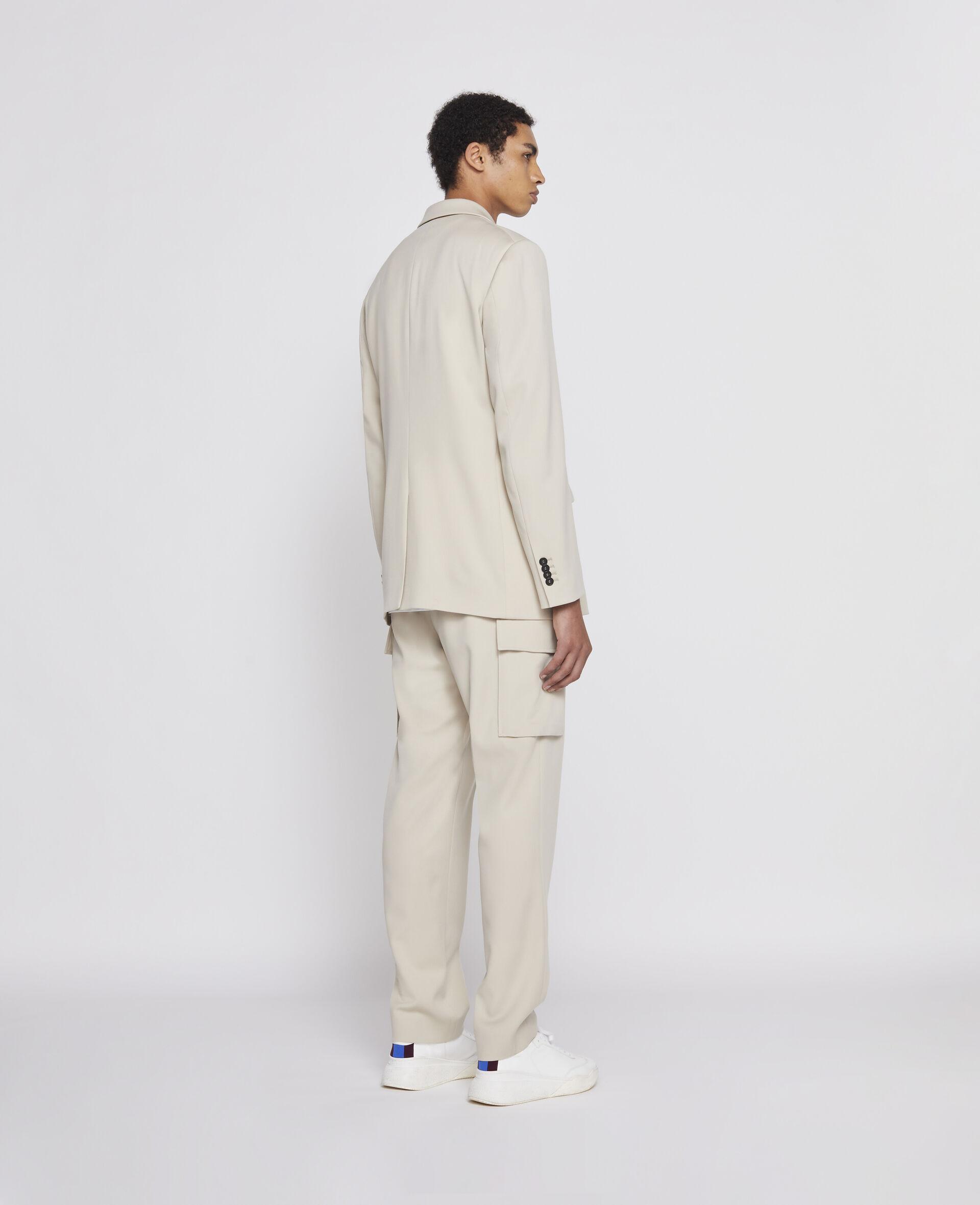 浅沙色裤装-米色-large image number 2