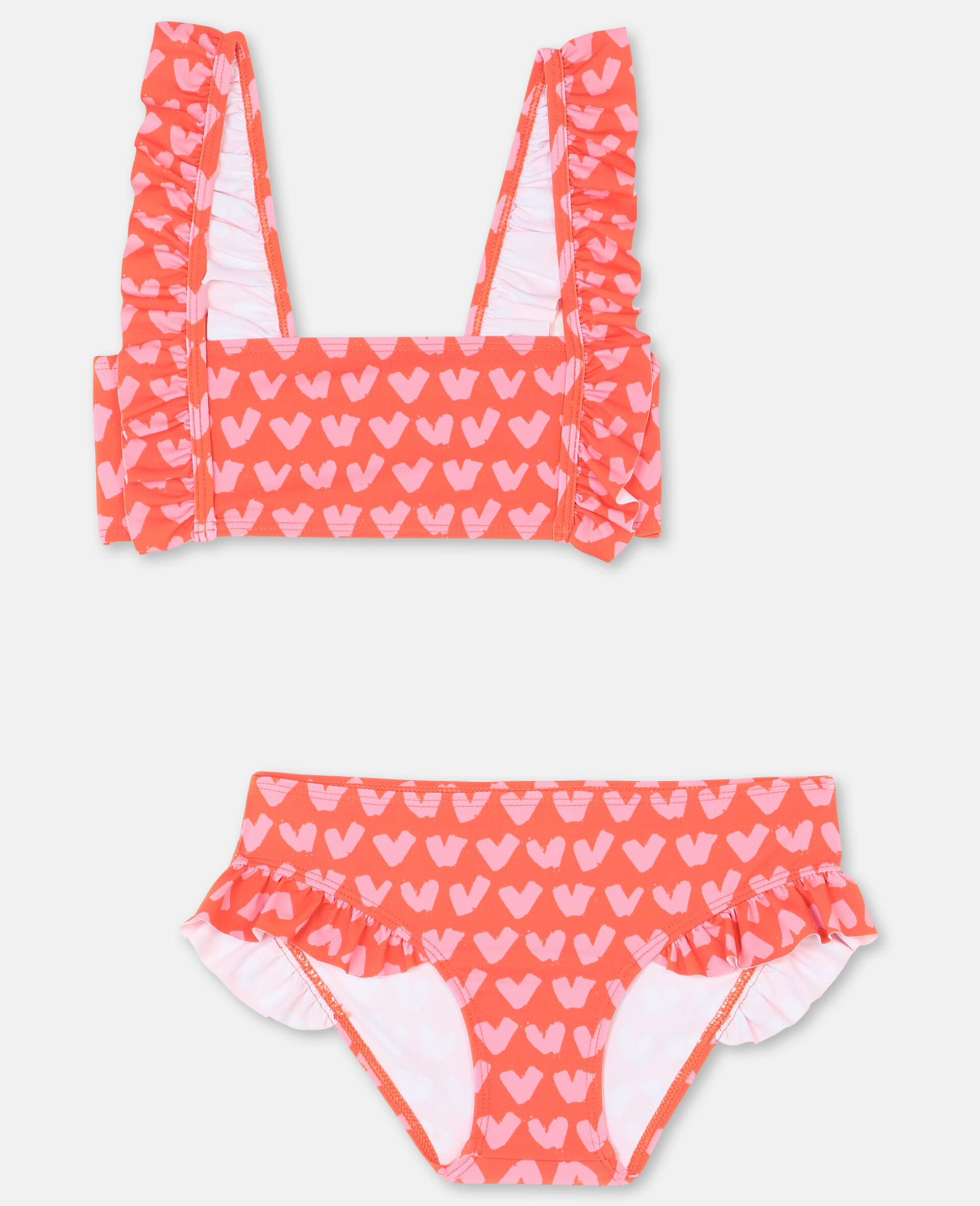 Hearts Red Bikini -Red-large image number 0