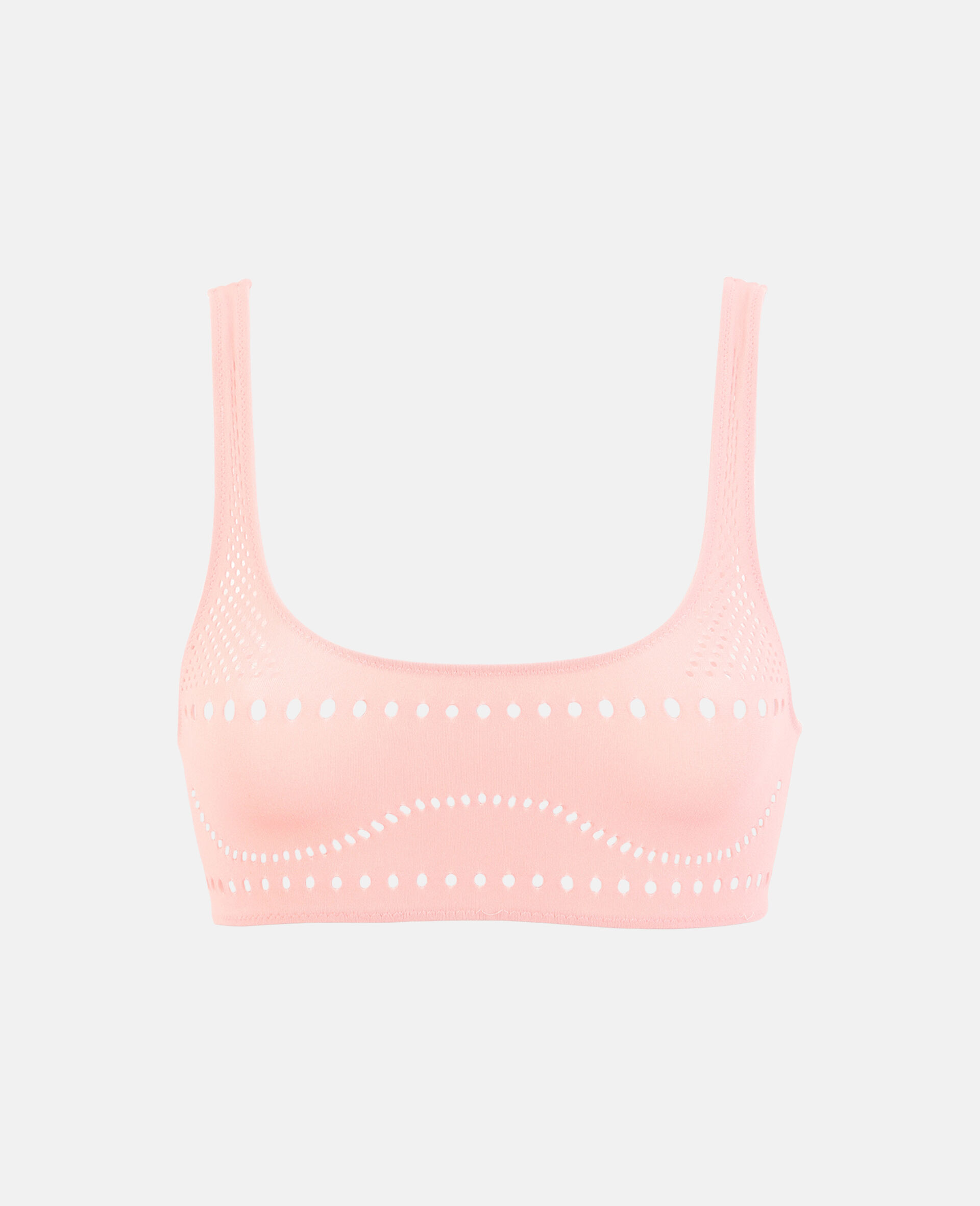 Stellawear Crop Bra-Pink-large image number 0