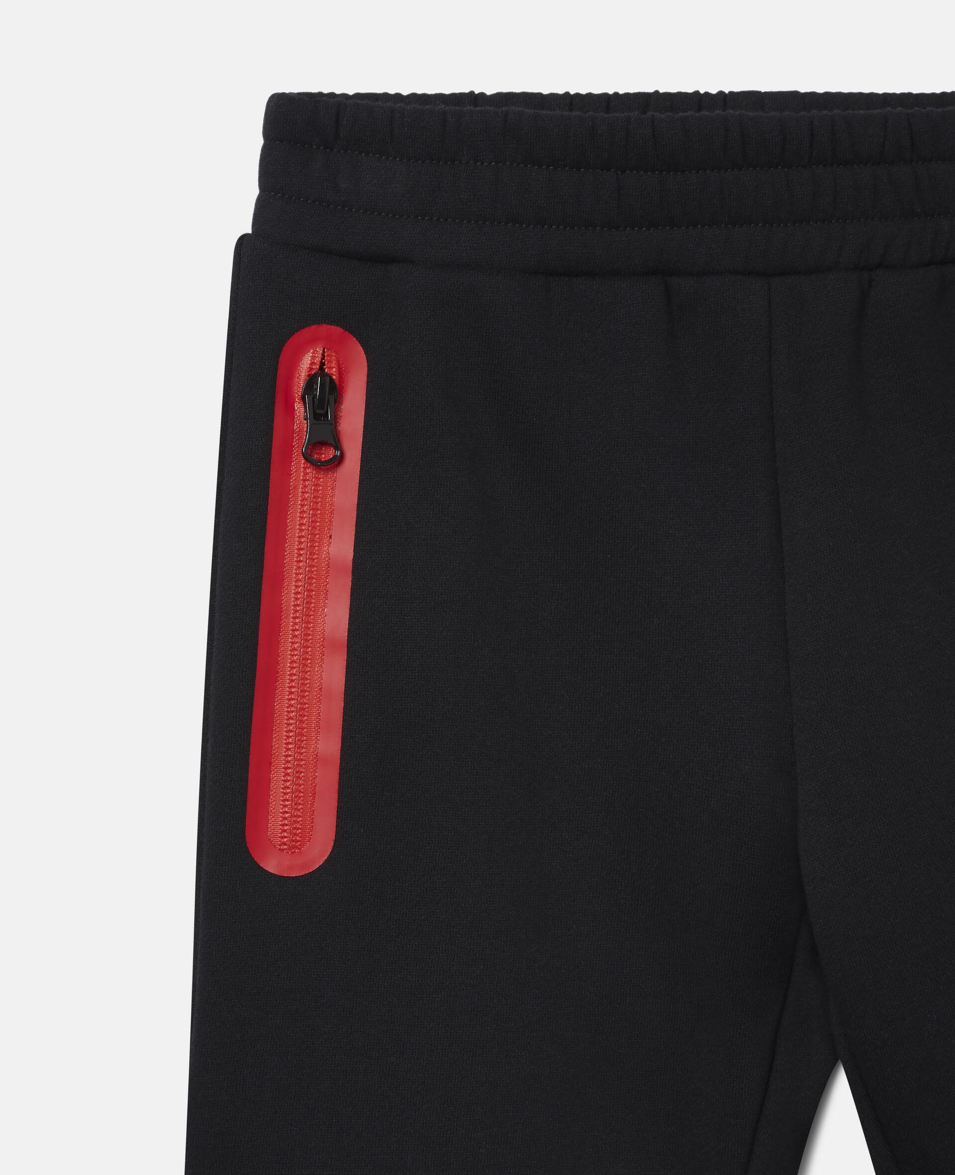 Pantalon de jogging en polaire Stella-Noir-large image number 0