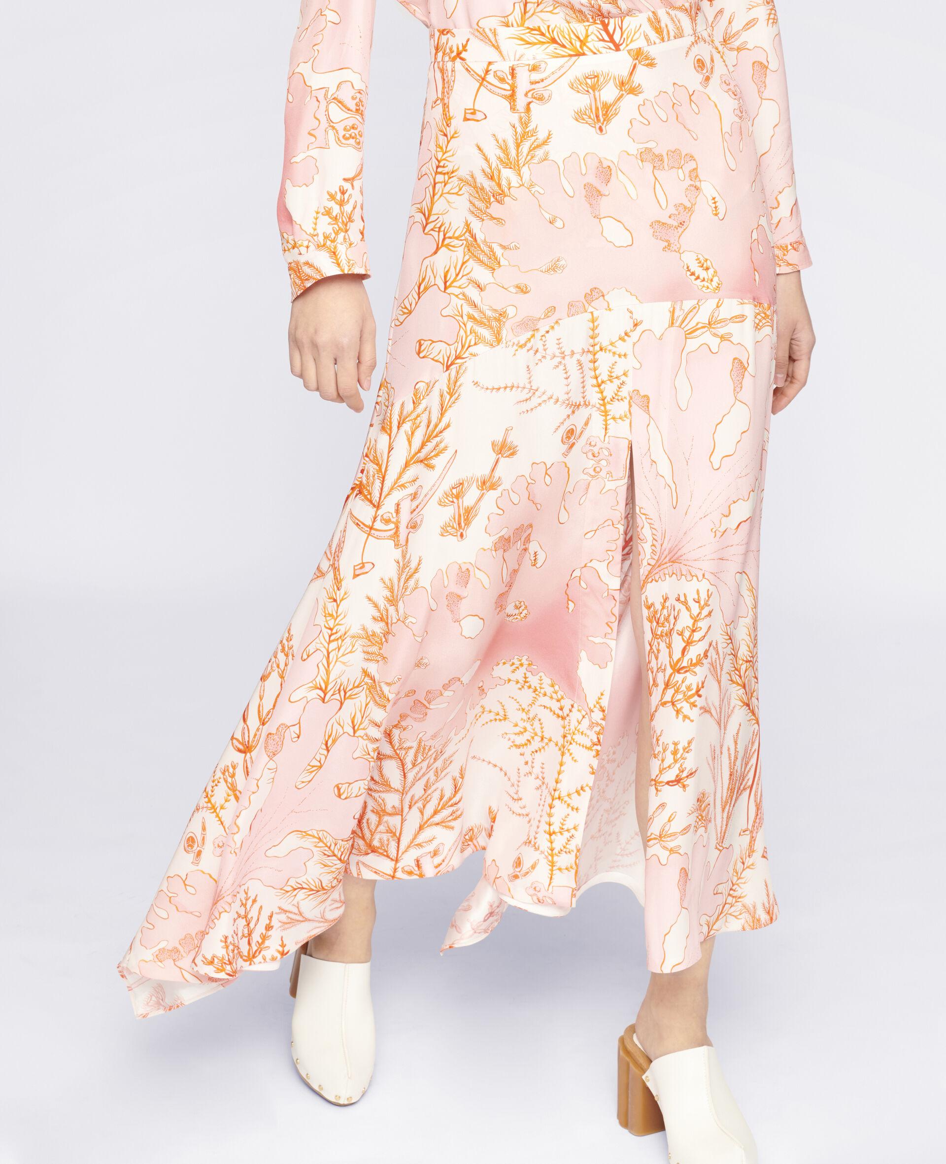 Ariah Silk Skirt-Multicoloured-large image number 3
