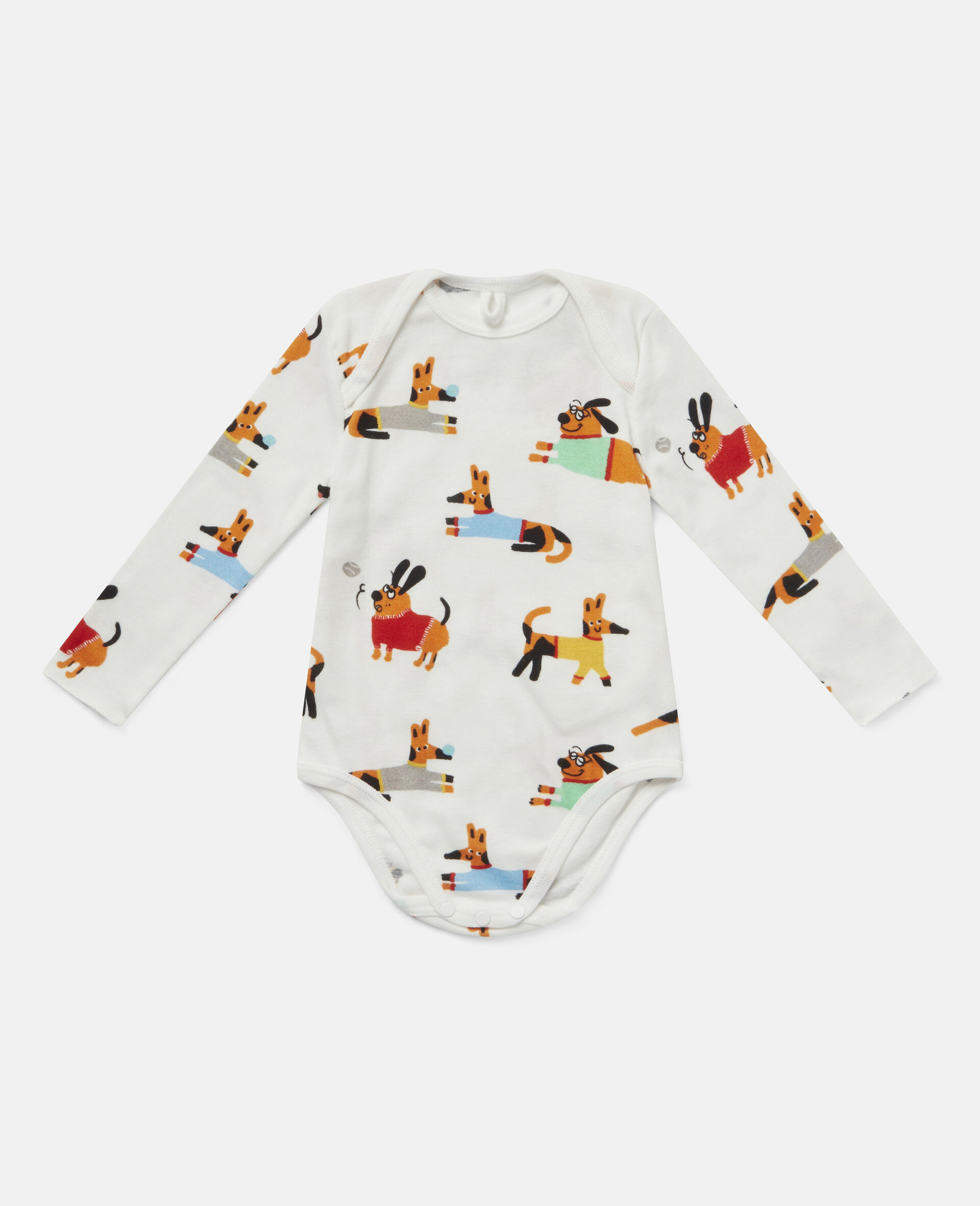 Baby Doggies Jersey Rib Bodies Set-Multicolour-large image number 1