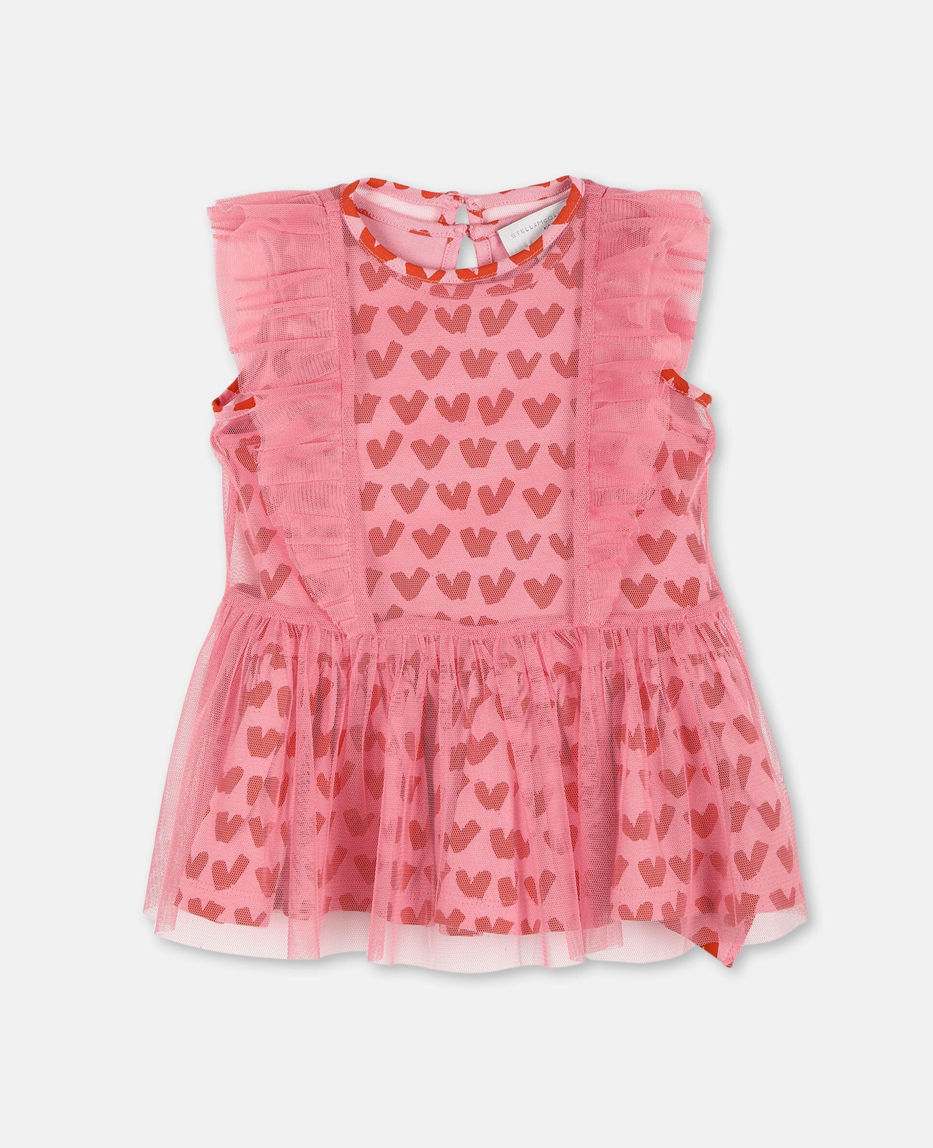 Kleid aus Tüll mit Herzen-Rose-large image number 0