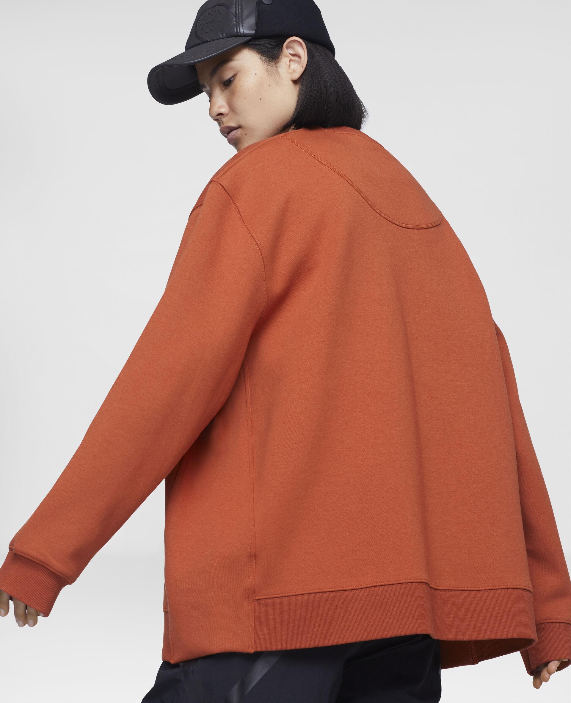 Burnt Brick Training Sweatshirt-Orange-large image number 3