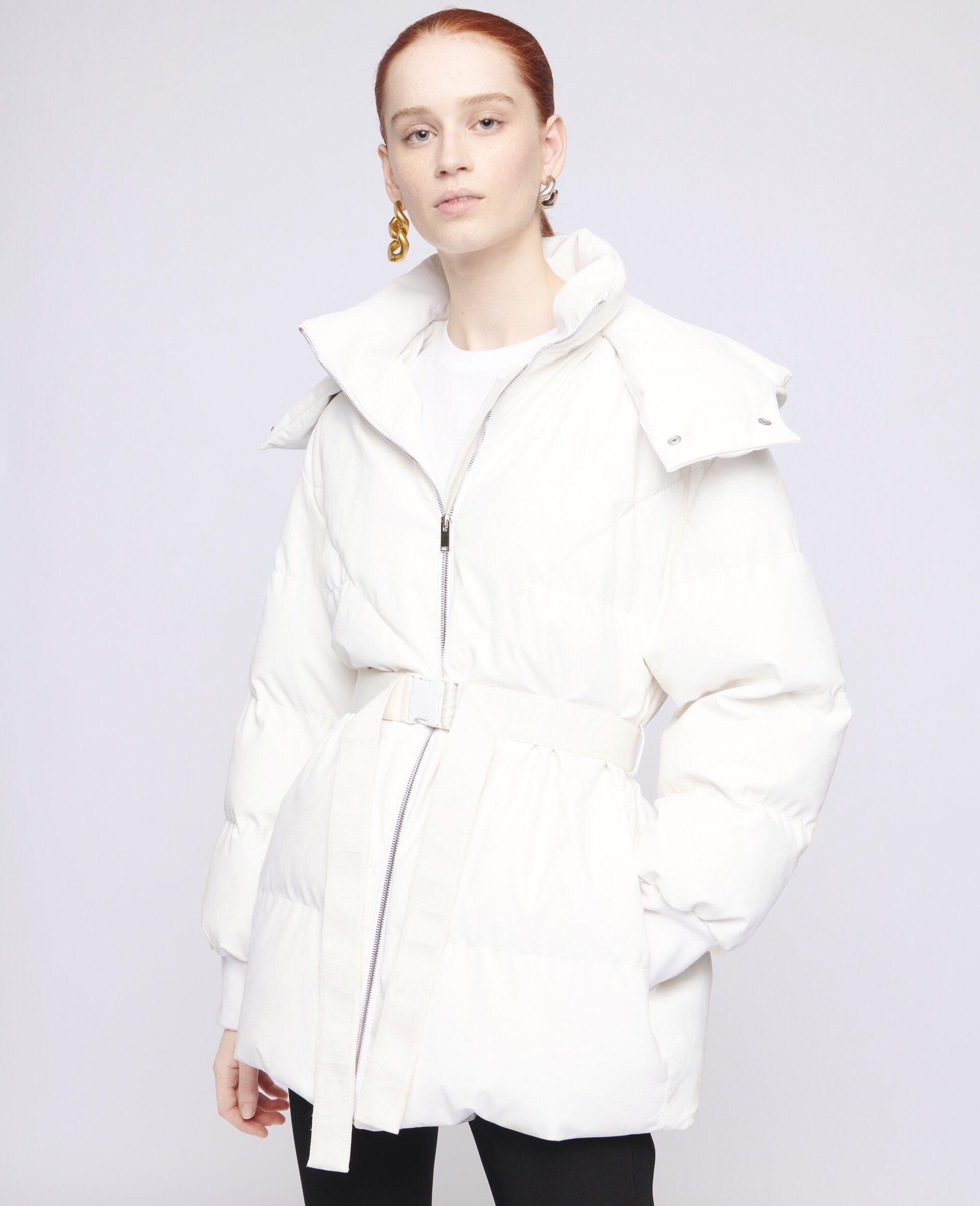 Kayla Quilted Puffer Jacket-White-large image number 3