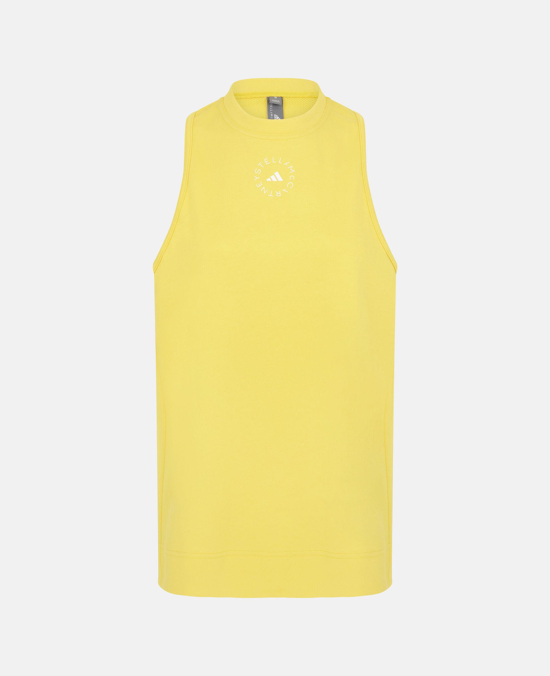 Yellow Training Tank Top-Yellow-large image number 0