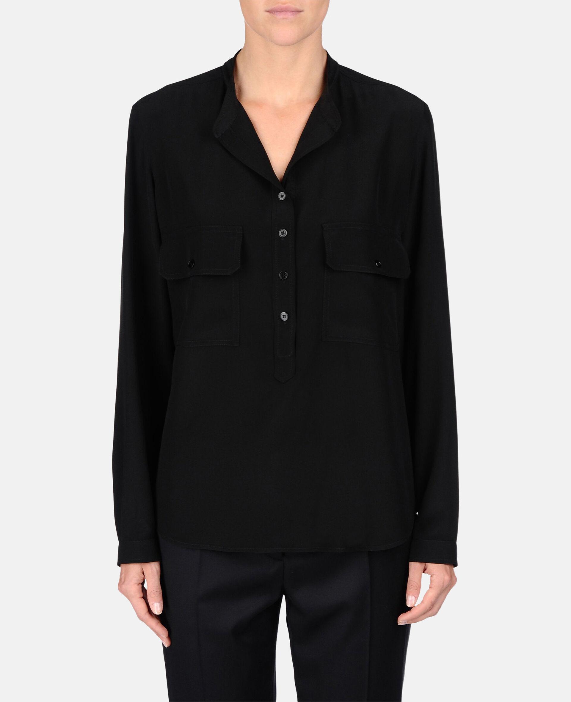 Estelle 衬衫-黑色-large image number 1
