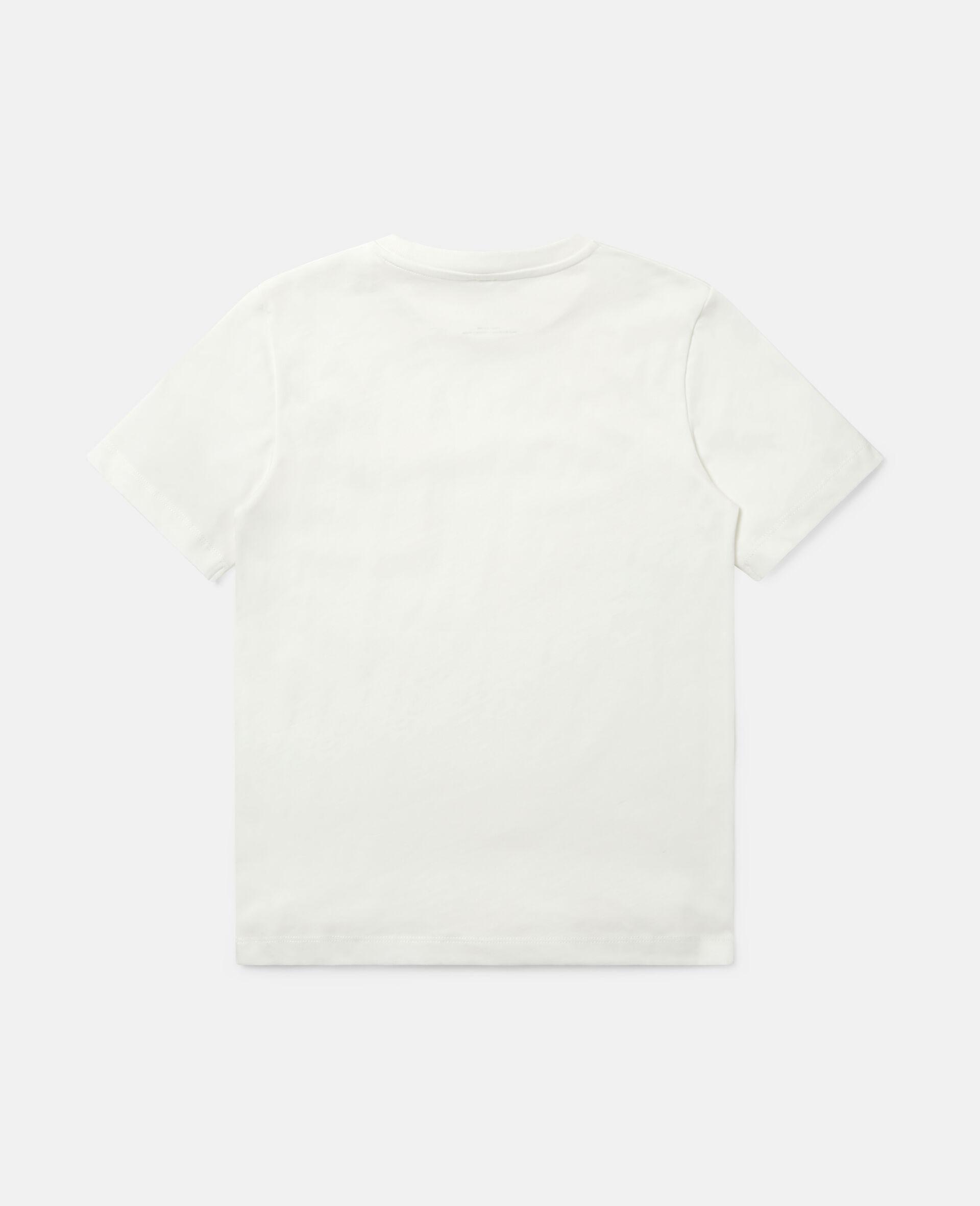 """T-Shirt aus Baumwolle mit """"Spray Can""""-Print-Weiß-large image number 3"""