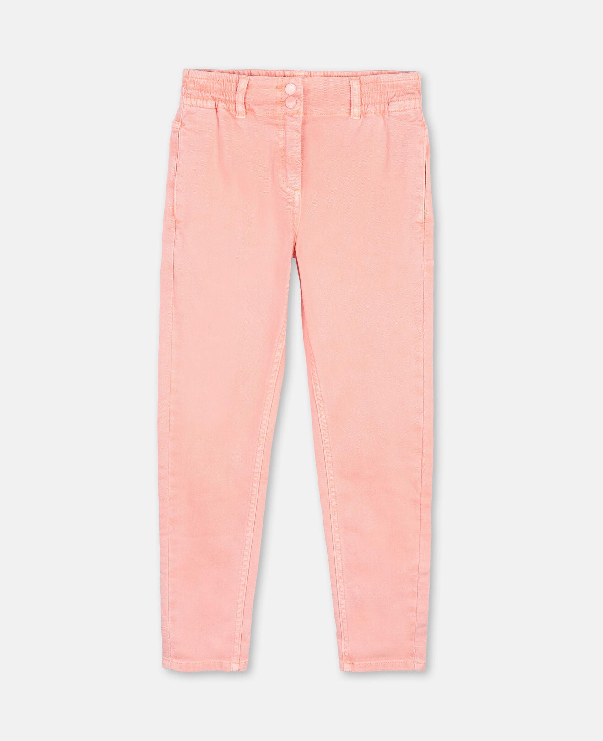 Mom Denim Pants-Pink-large image number 0