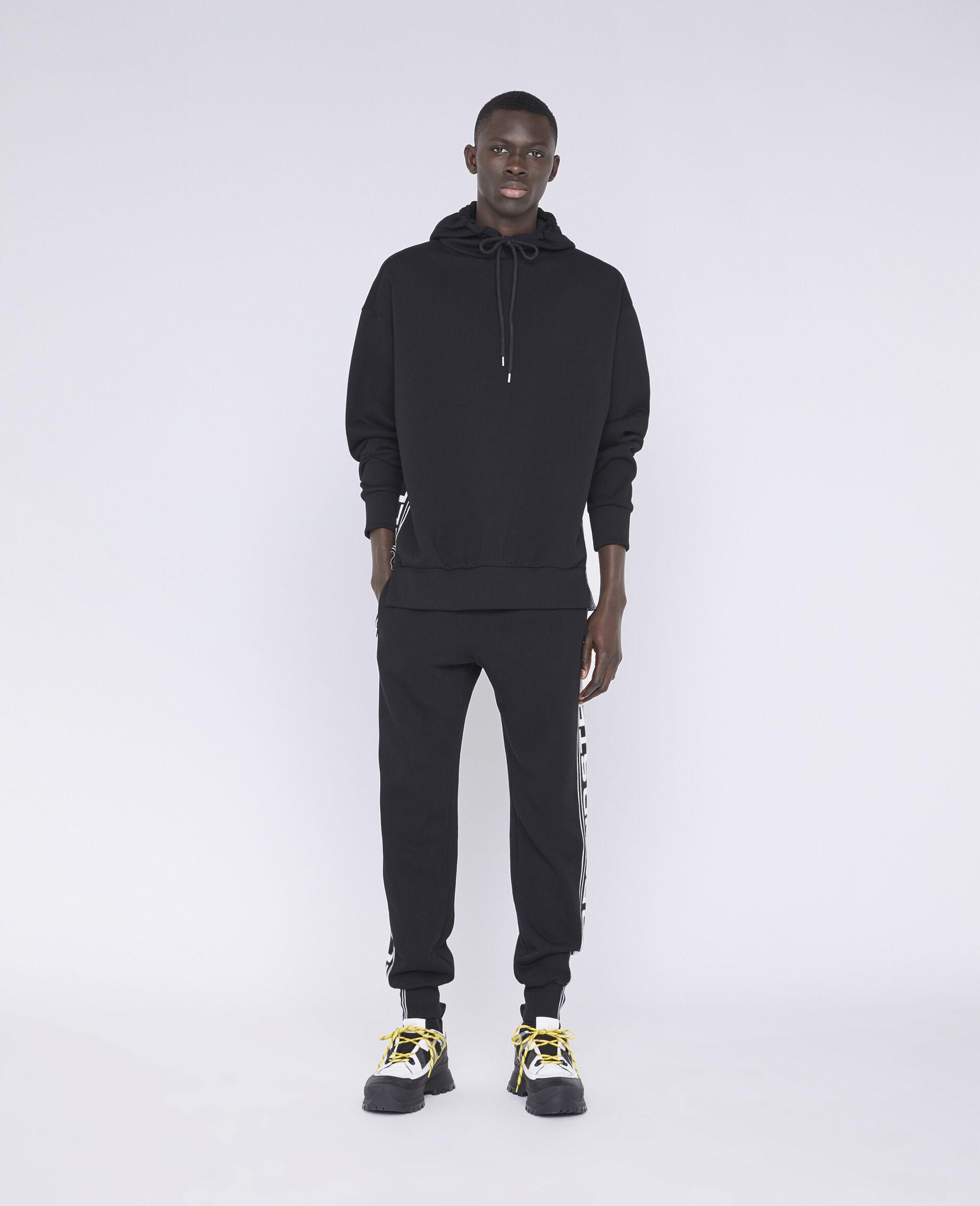 23 OBS 针织裤装-黑色-large image number 1