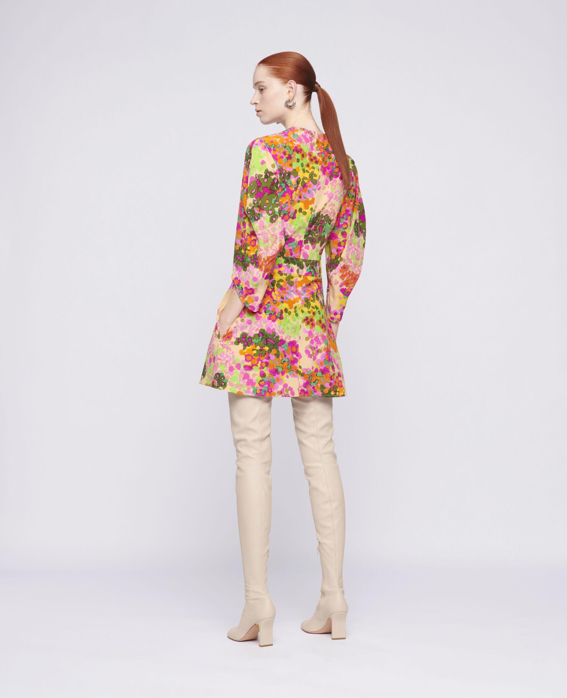 Maddison Mini Dress-Multicolour-large image number 2