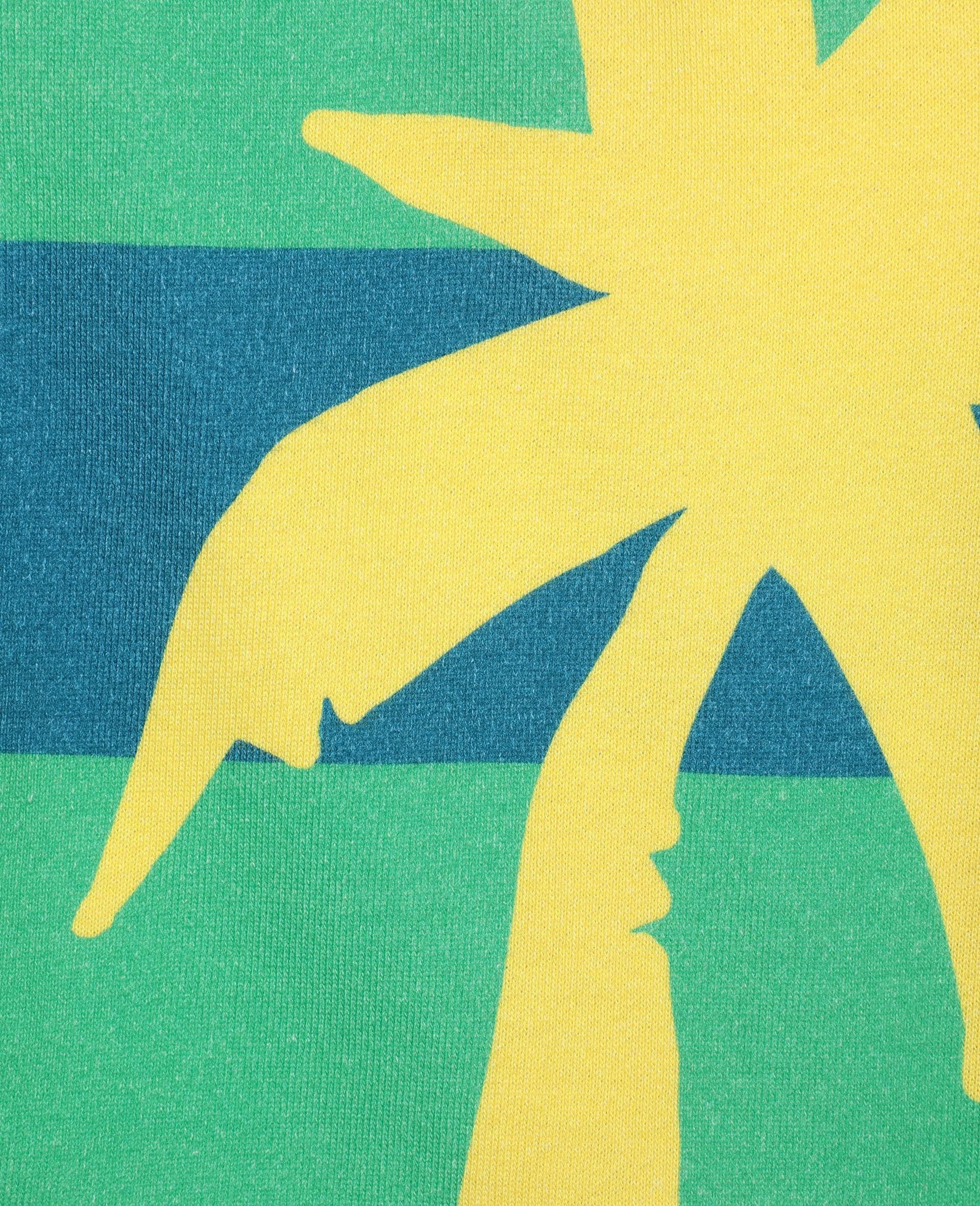 Palm 棉质短裤 -绿色-large image number 1