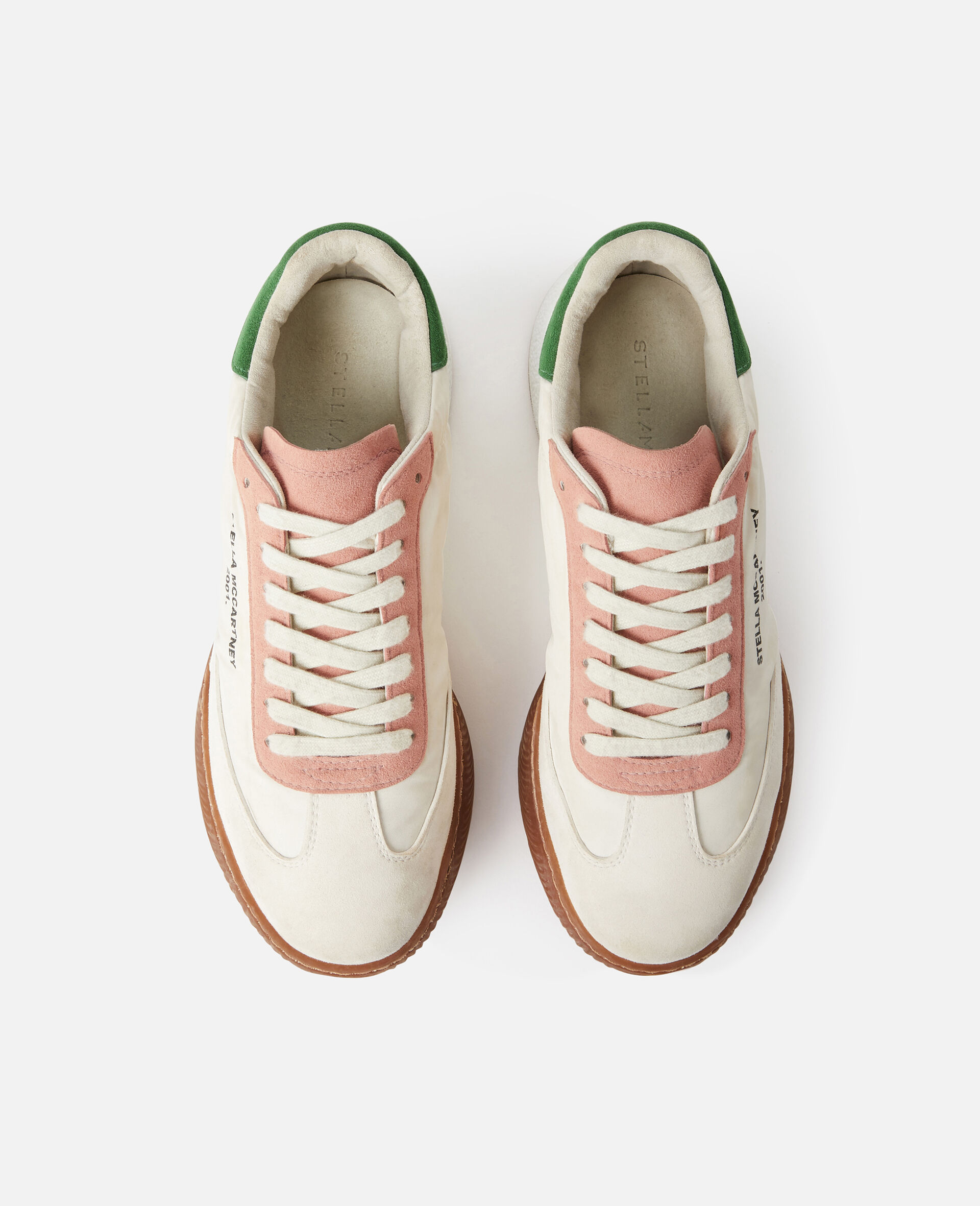 Loop Lace-up Sneakers-Multicolour-large image number 3