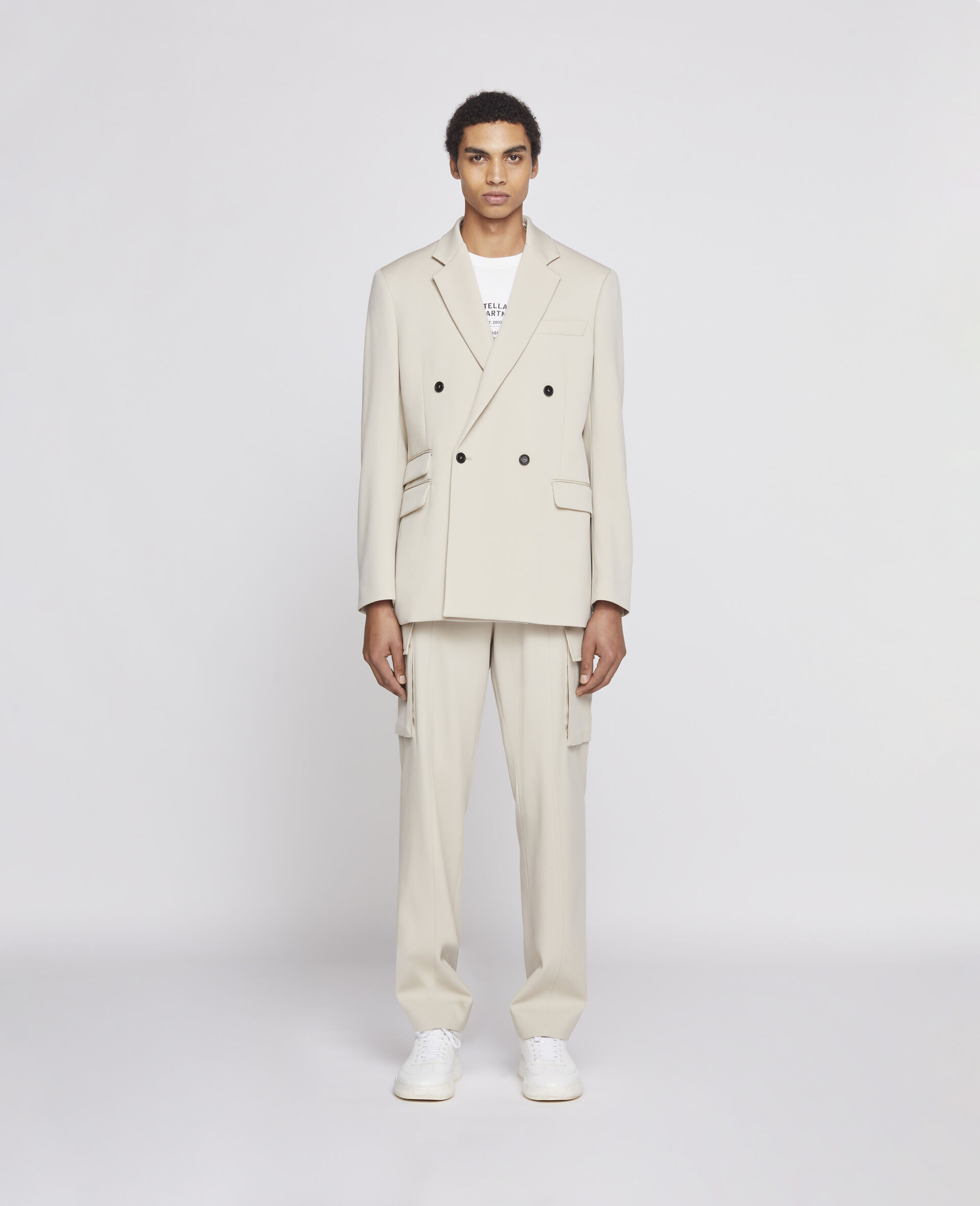 Pantaloni Sabbia Chiaro-Beige-large image number 1