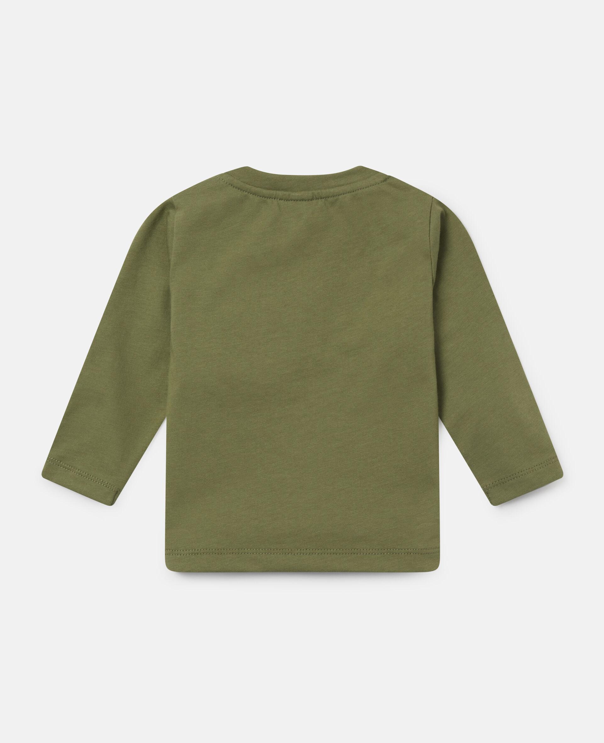 Haut en coton «Stay Wild»-Vert-large image number 3