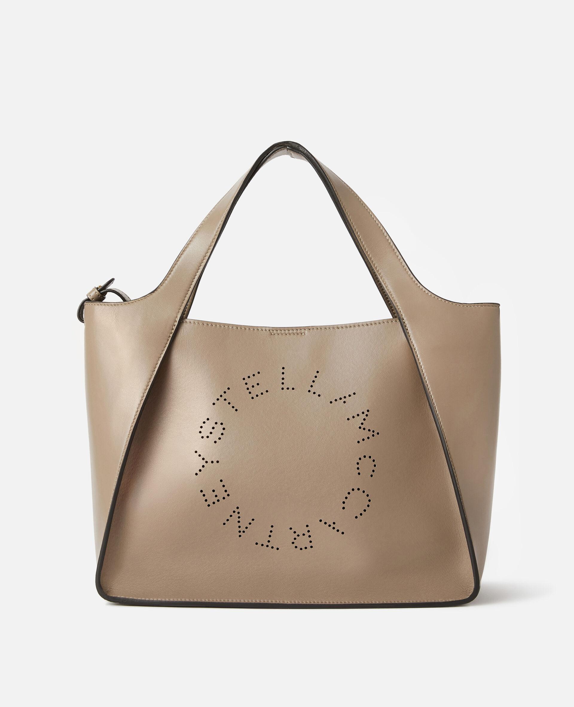 Stella Logo Crossbody Bag -Beige-large image number 0