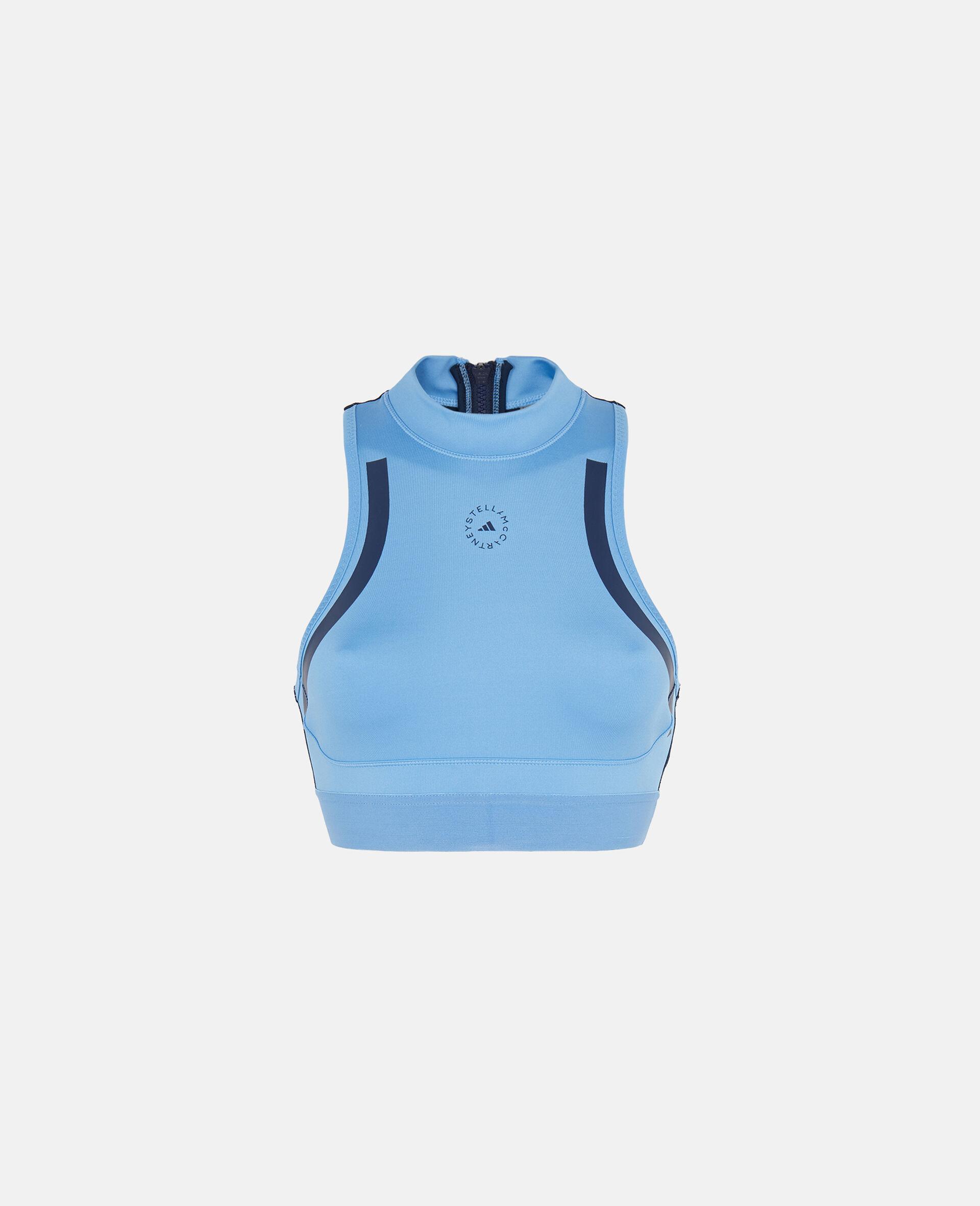 Blue TruePace Heat.rdy Crop Top-Blue-large image number 0