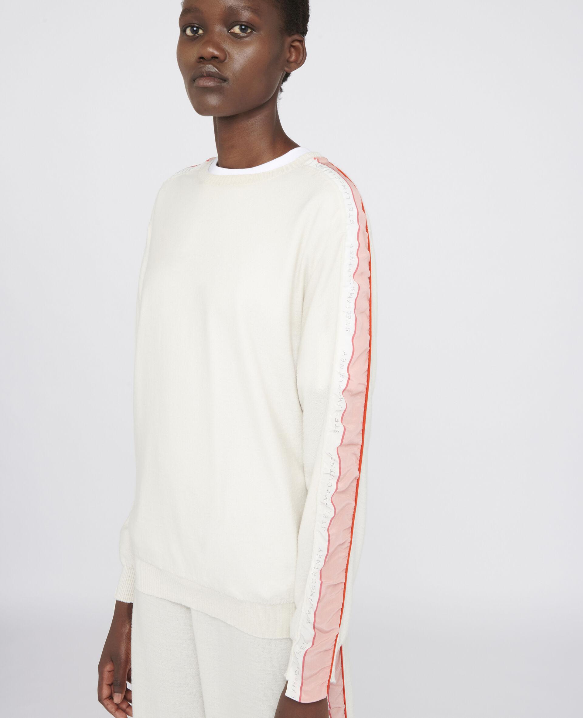 Monogram Wool Sweater-Beige-large image number 3
