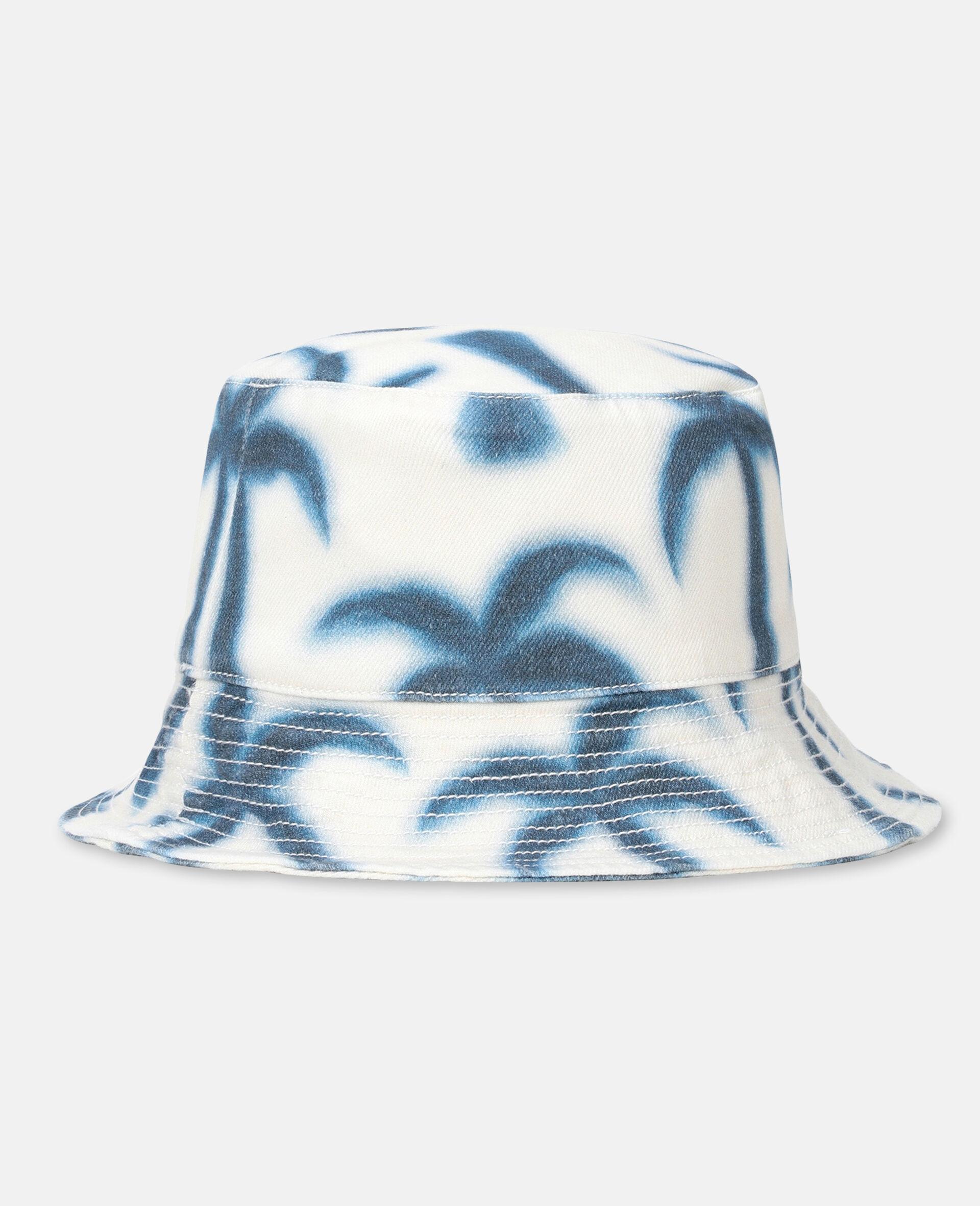 Palm Denim Hat -Blue-large image number 1