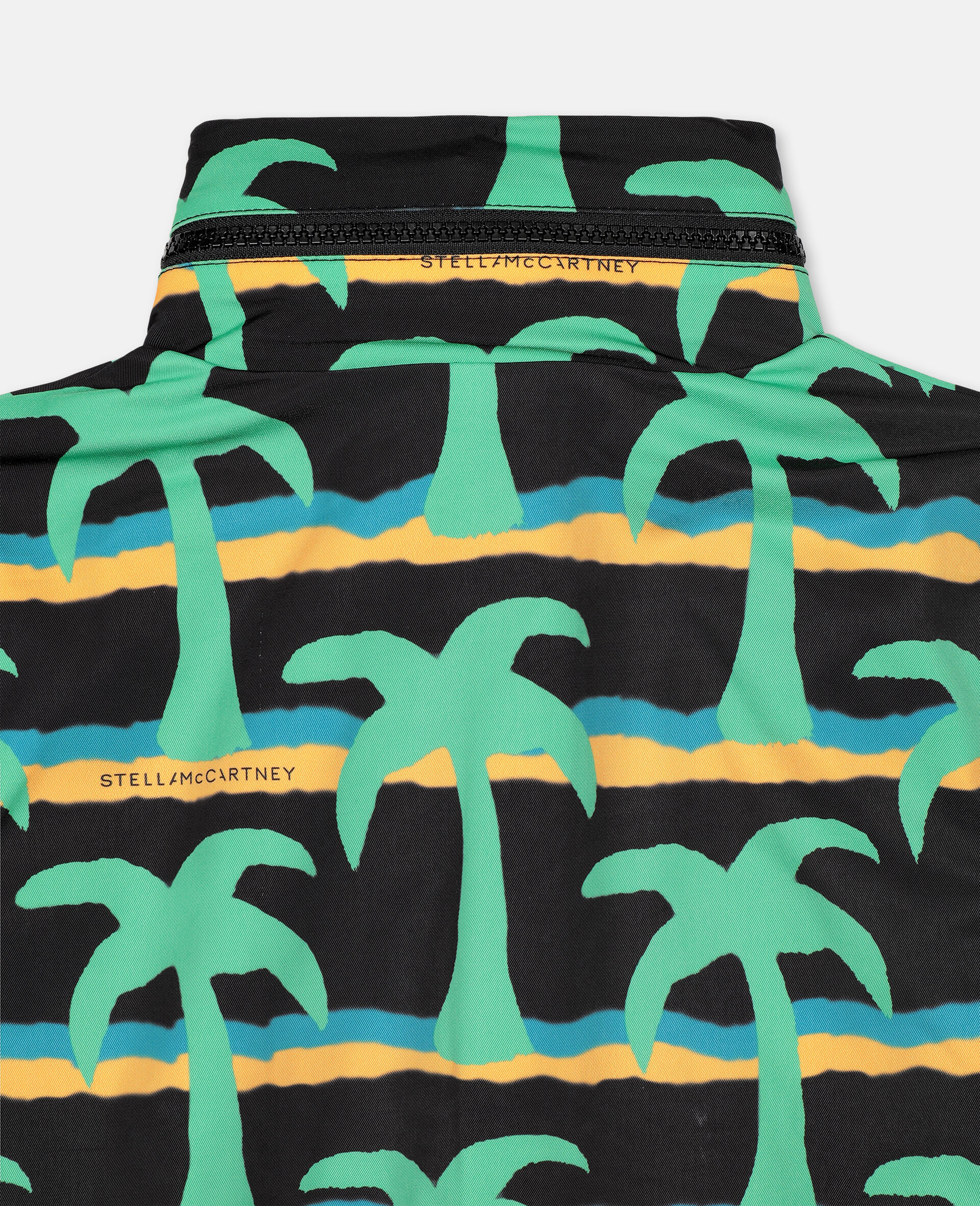 Palm Poly Jacket -Black-large image number 2