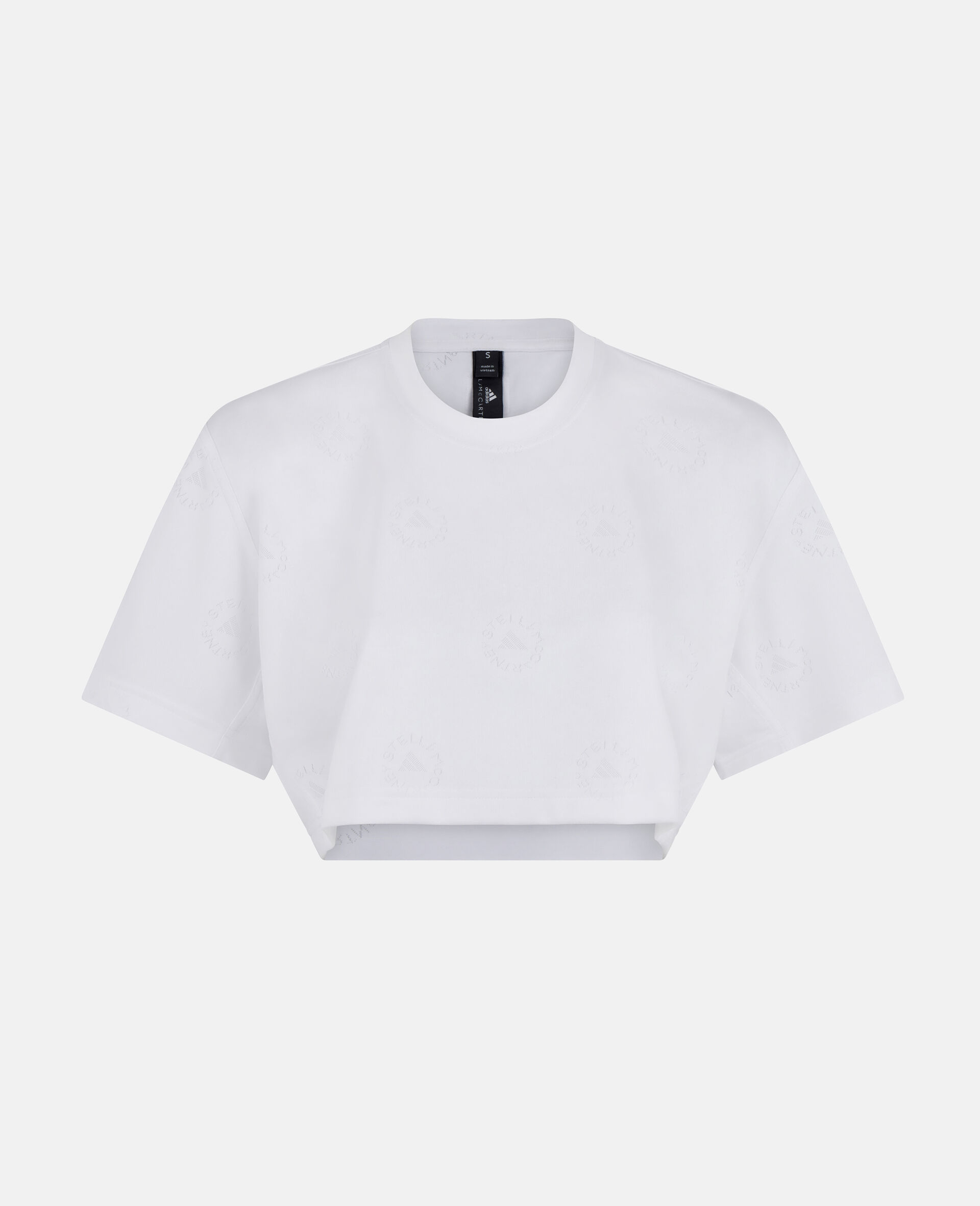 Crop T-Shirt-Weiß-large image number 0