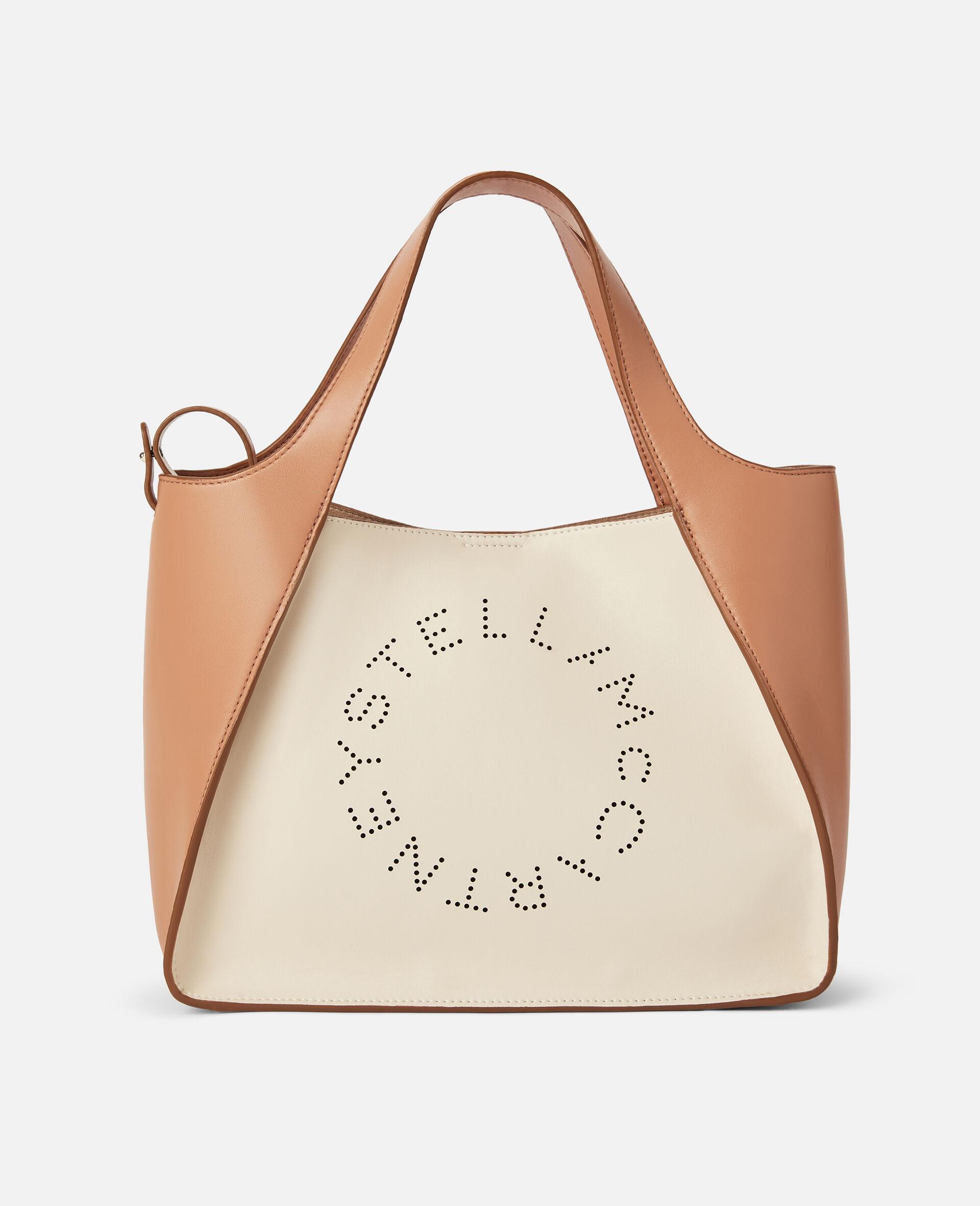 Stella Logo Crossbody Bag -White-large image number 0