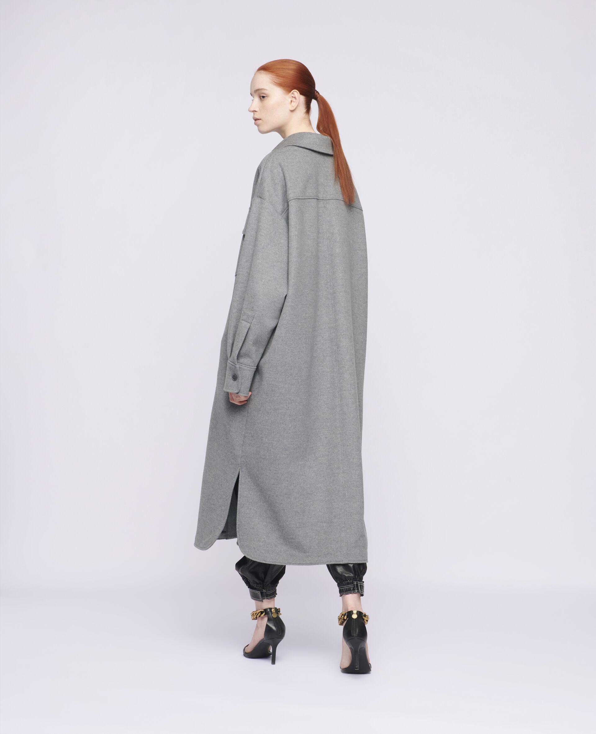 Linda Wool Coat-Grey-large image number 2