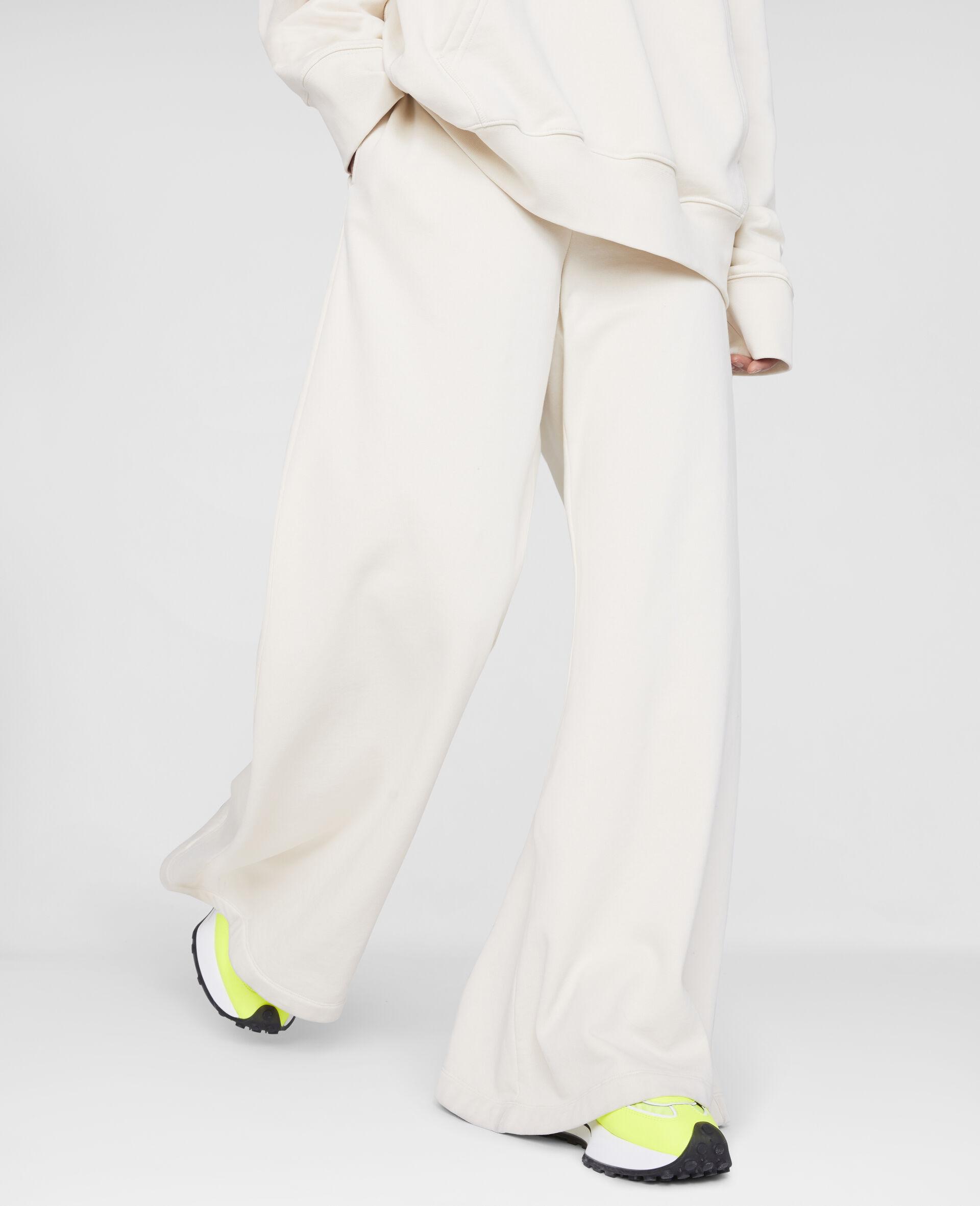 Stella Logo Sweatpants -White-large image number 4
