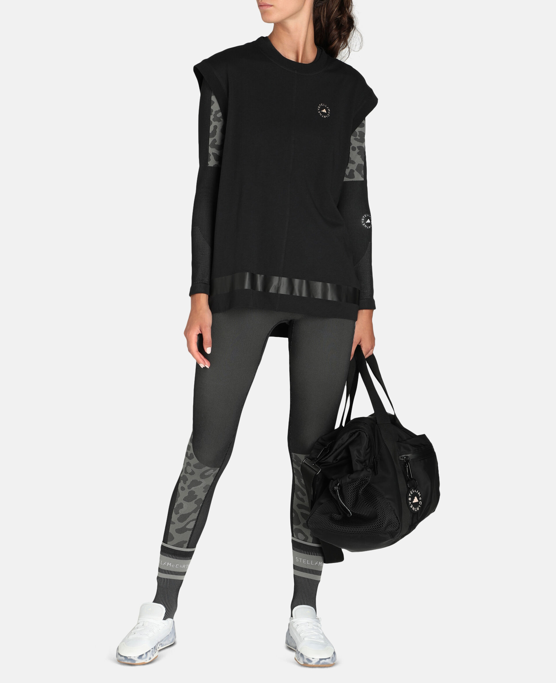 Black Training Vest-Black-large image number 1