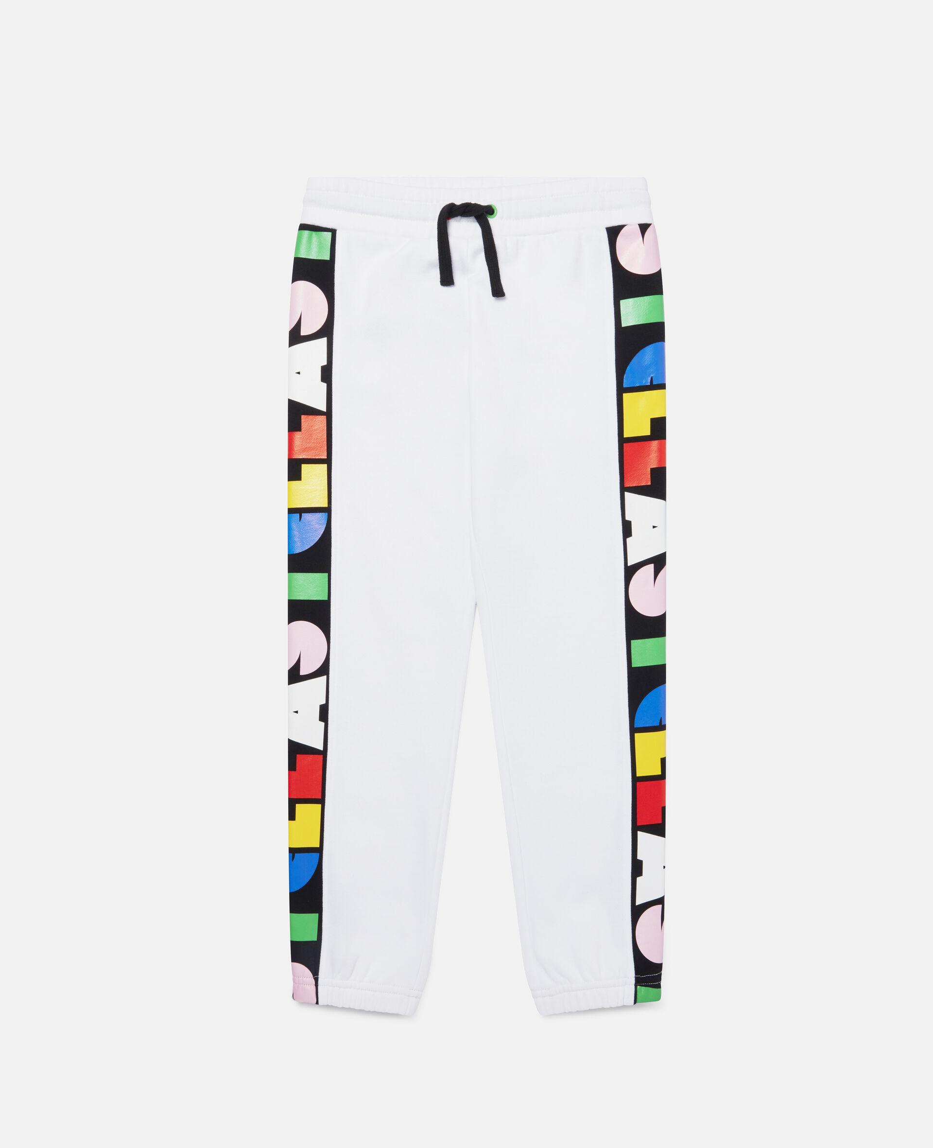 Pantalon de jogging en polaire Stella-Blanc-large image number 0