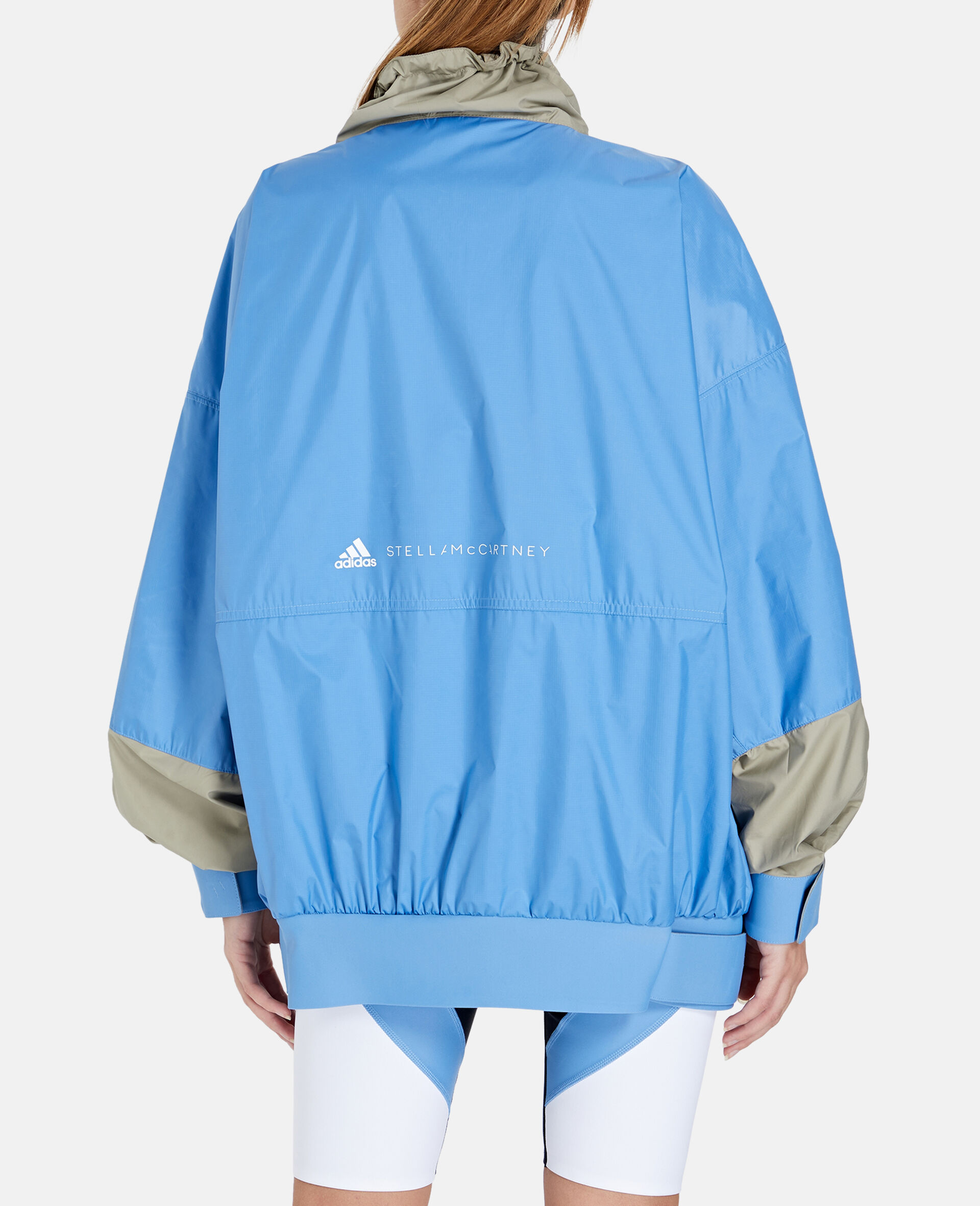 Beach Defender Jacke mit halbem Reißverschluss-Blau-large image number 2