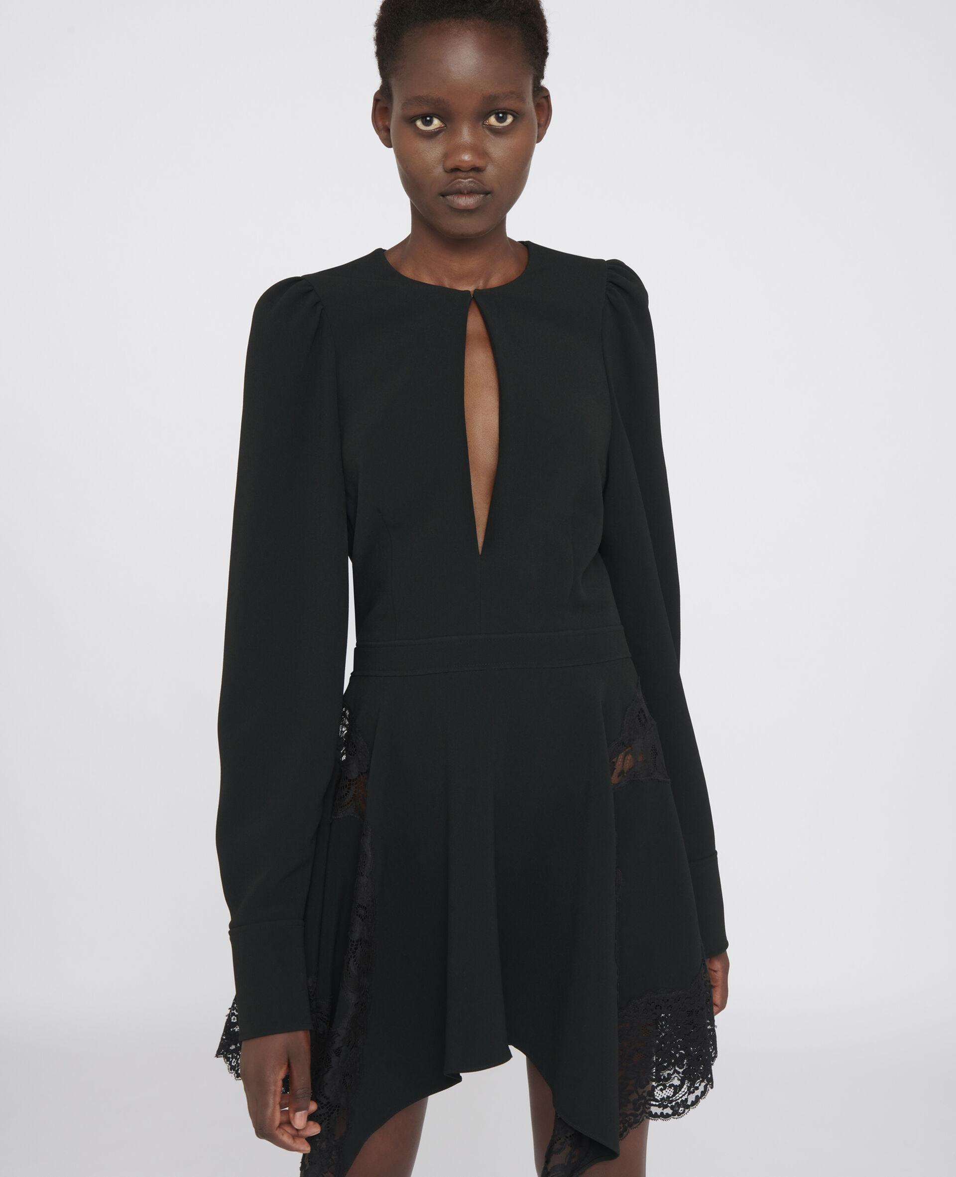 Celeste Mini Dress-Black-large image number 3