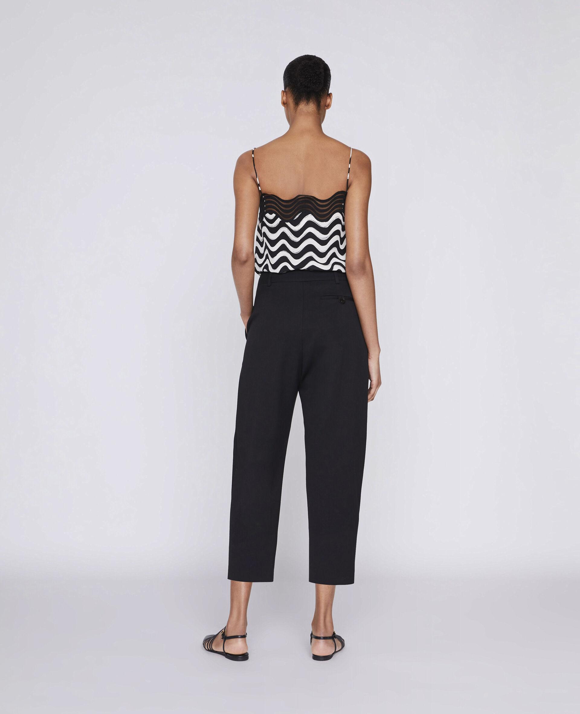 Pantalon ajusté Dawson-Noir-large image number 2