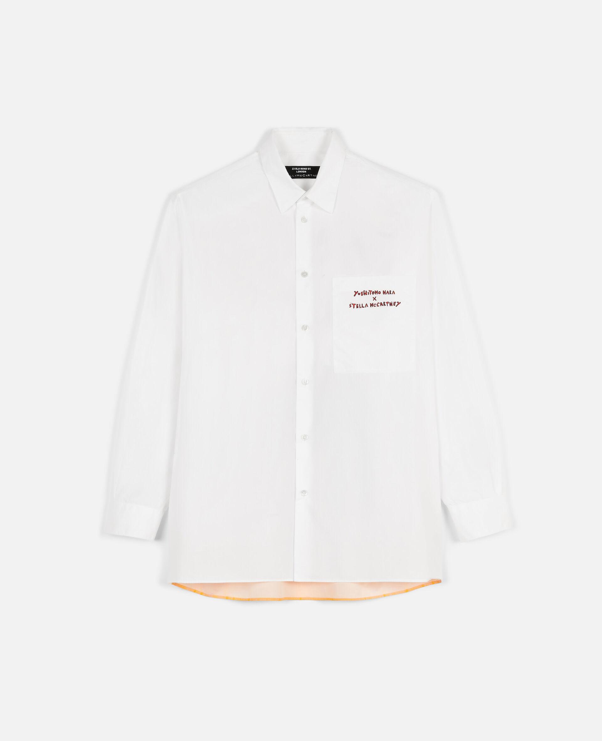 Nara Cotton Shirt-White-large image number 0
