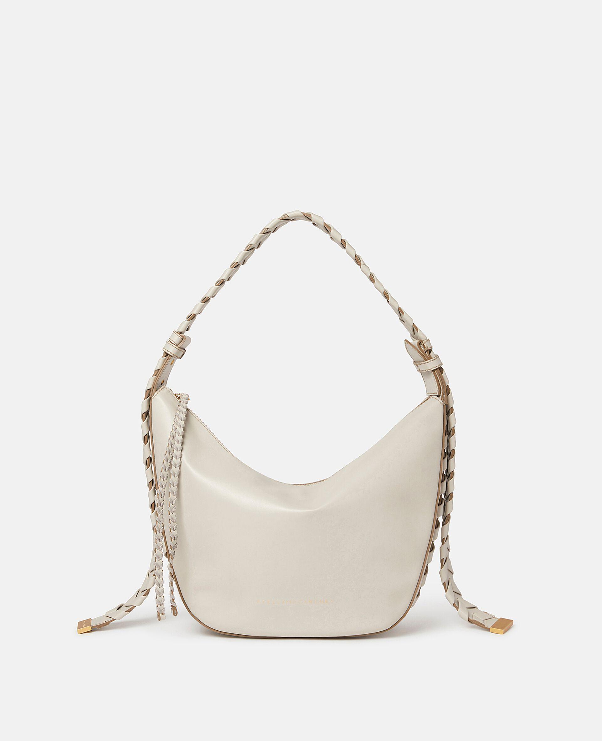 Medium Zip Hobo Shoulder Bag-Black-large image number 0
