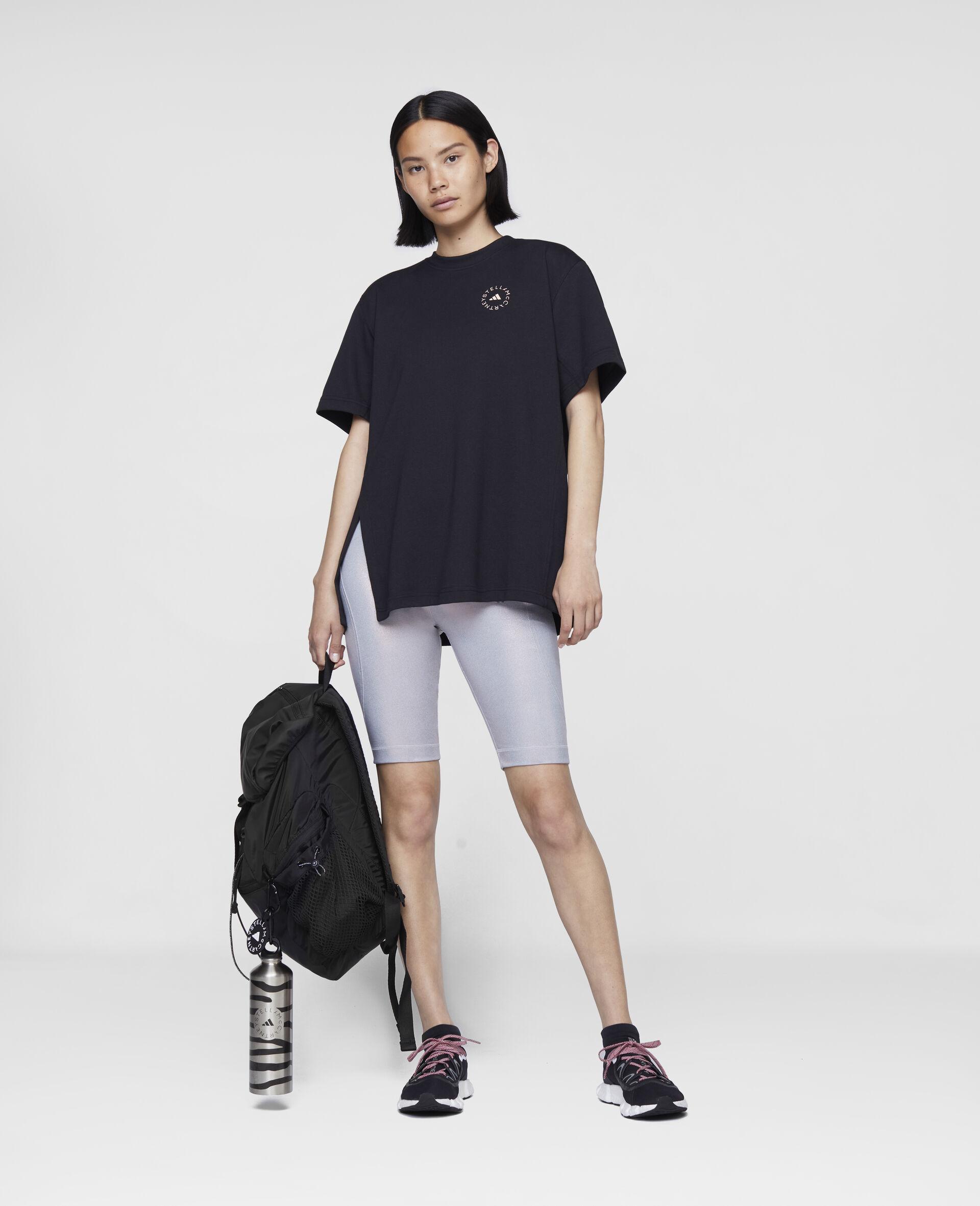 t-shirt d'entraînement noir-Noir-large image number 1