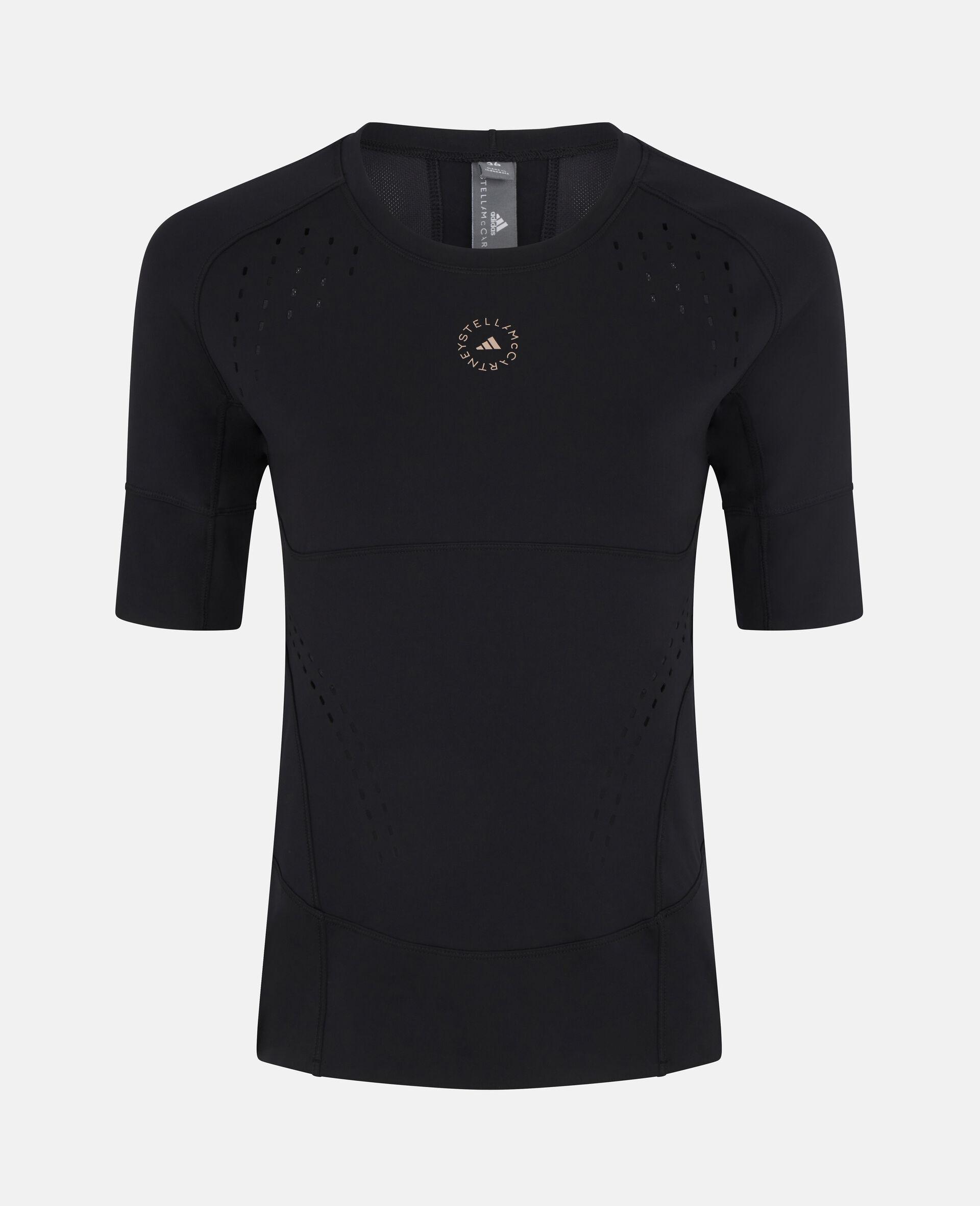 Black TruePurpose Training T-Shirt-Black-large image number 0