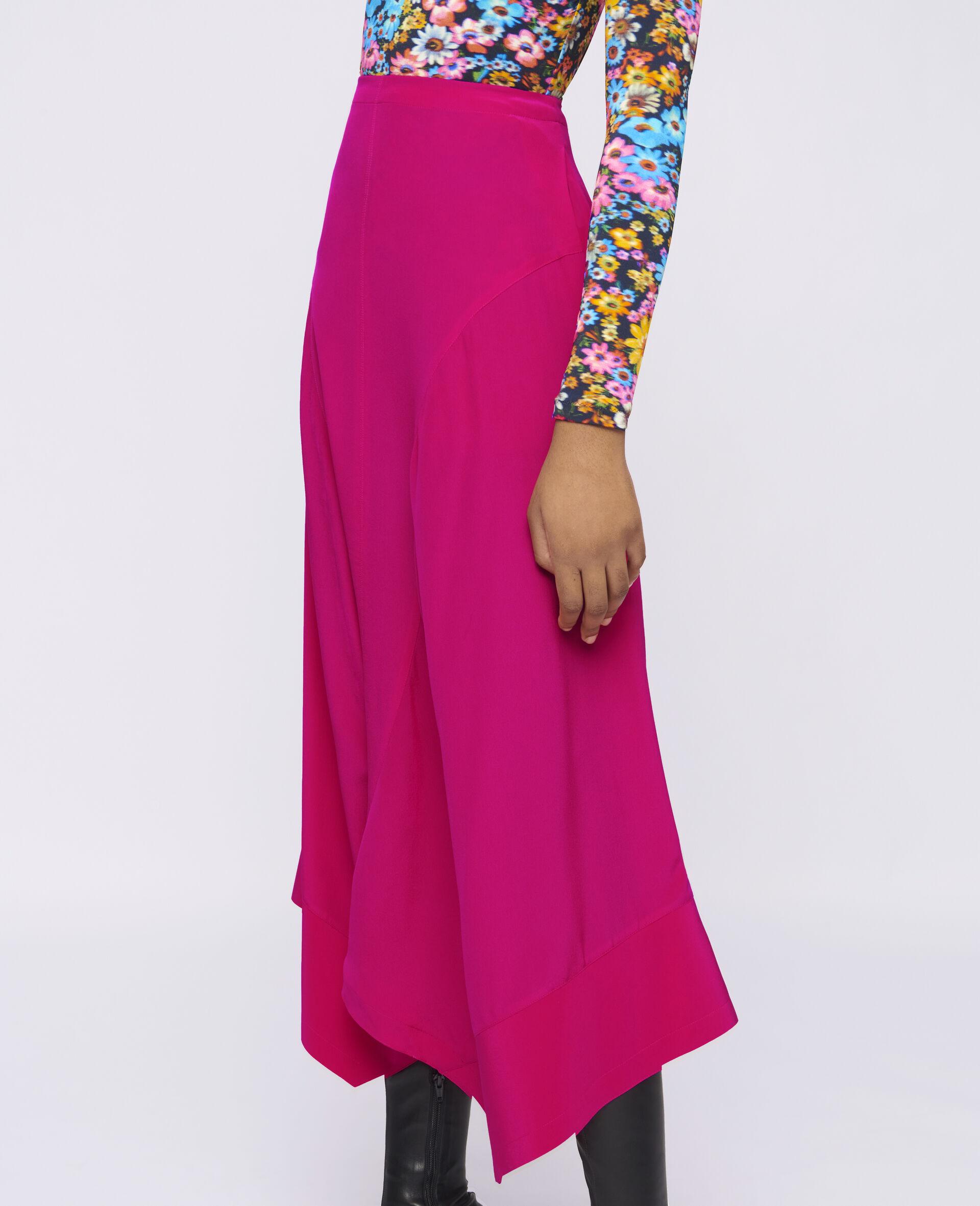 Naya Silk Skirt-Pink-large image number 3