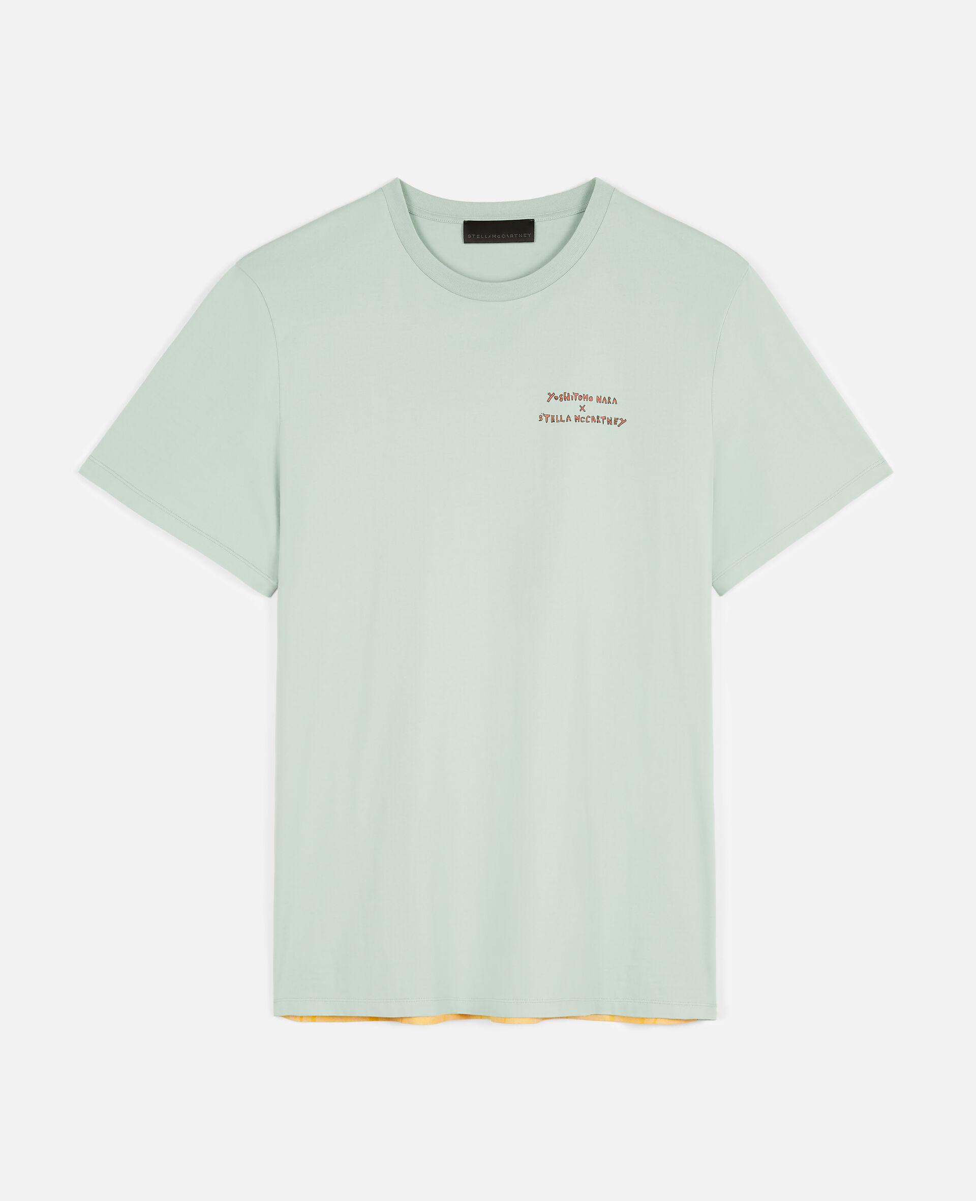 Nara Organic Cotton T-shirt -Green-large image number 0