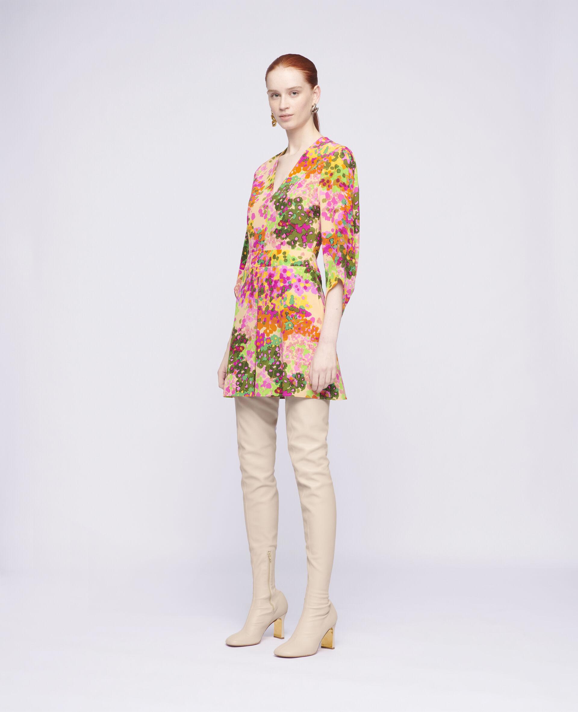 Maddison Mini Dress-Multicoloured-large image number 1
