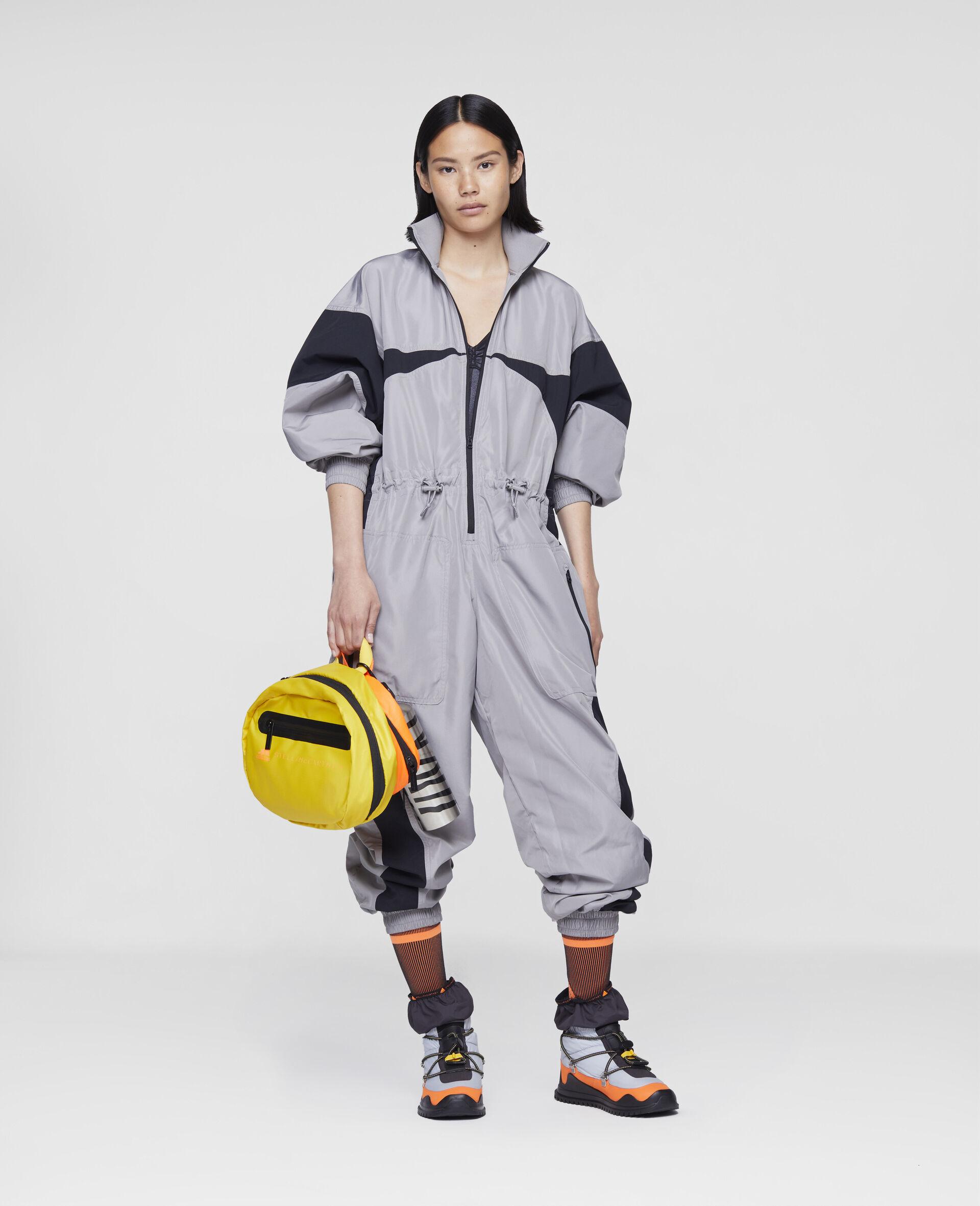 """Earth Protector"" Gewebter Jumpsuit-Grau-large image number 1"