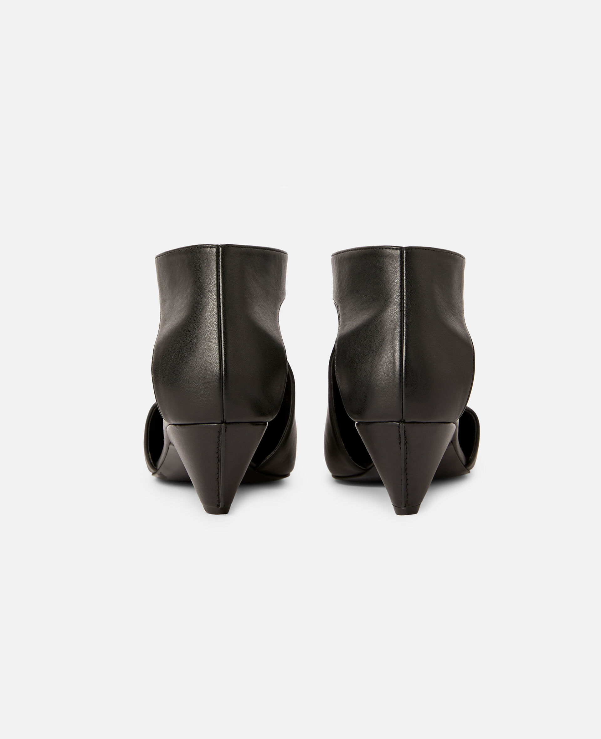 Zipit Low Heel Boots-Black-large image number 2