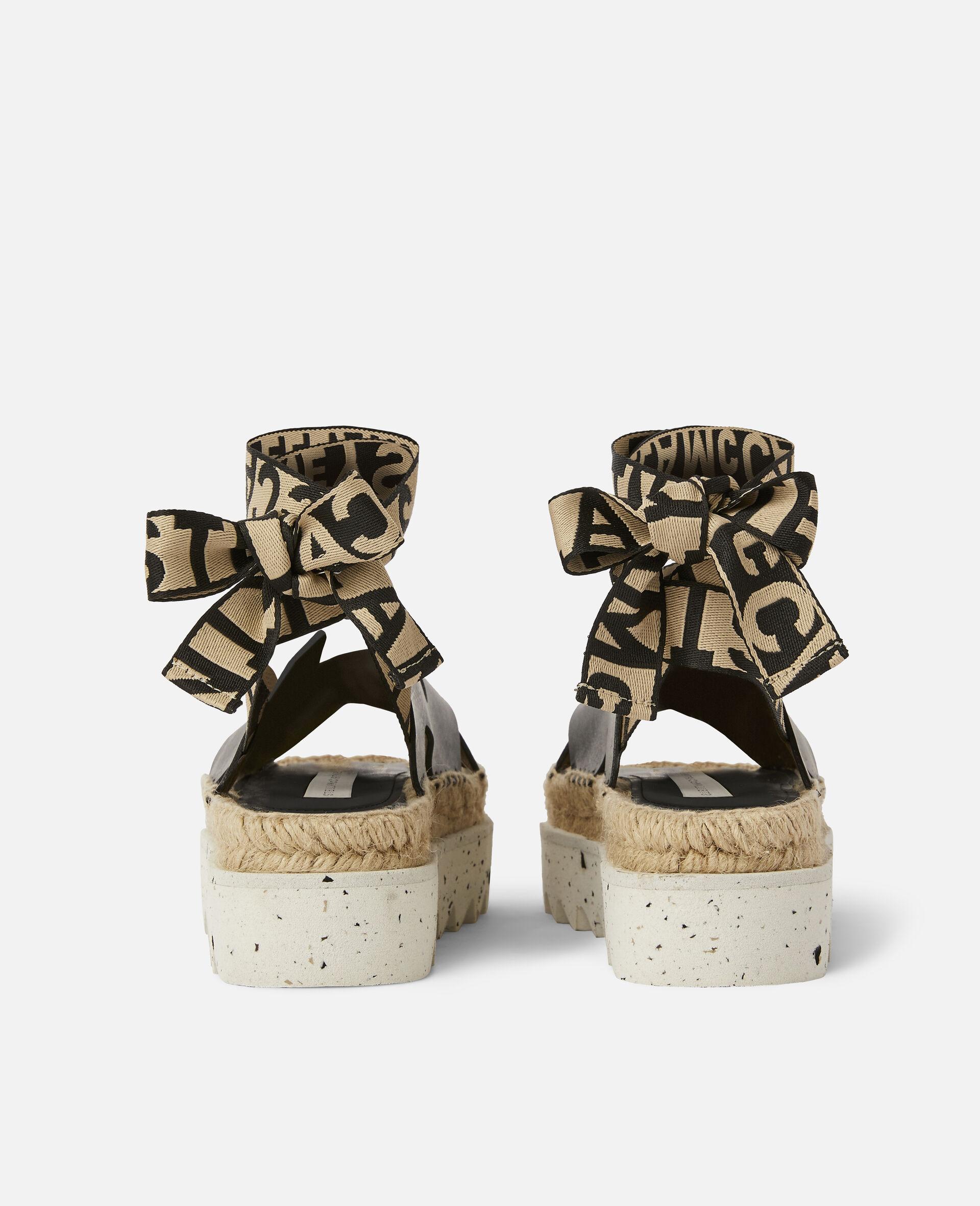 Gaia Alter Mat Sandals-Black-large image number 2