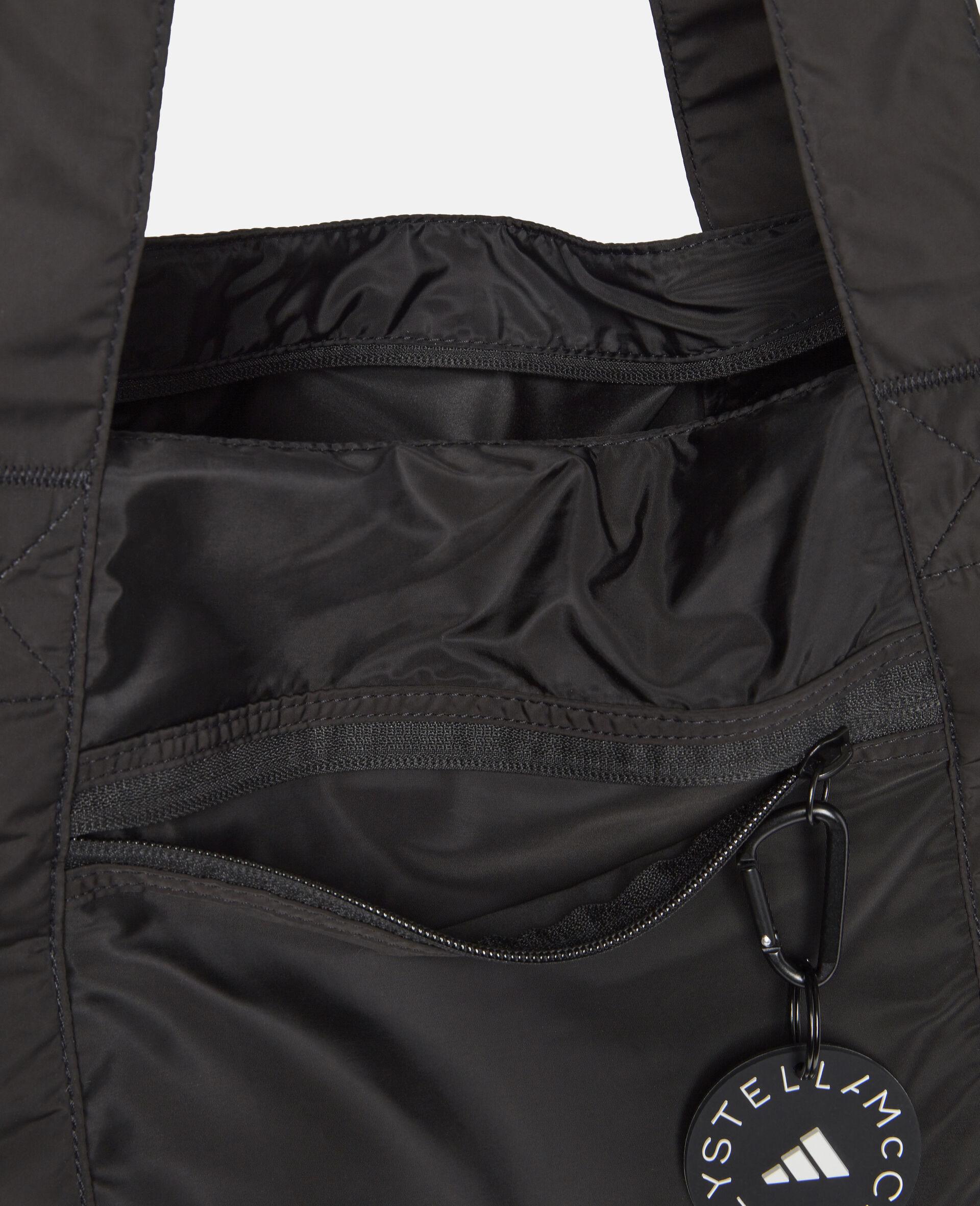 Black Tote Bag-Black-large image number 5